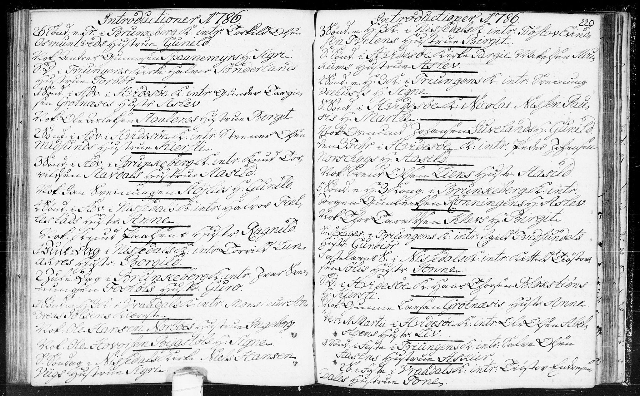 SAKO, Kviteseid kirkebøker, F/Fa/L0002: Ministerialbok nr. I 2, 1773-1786, s. 220