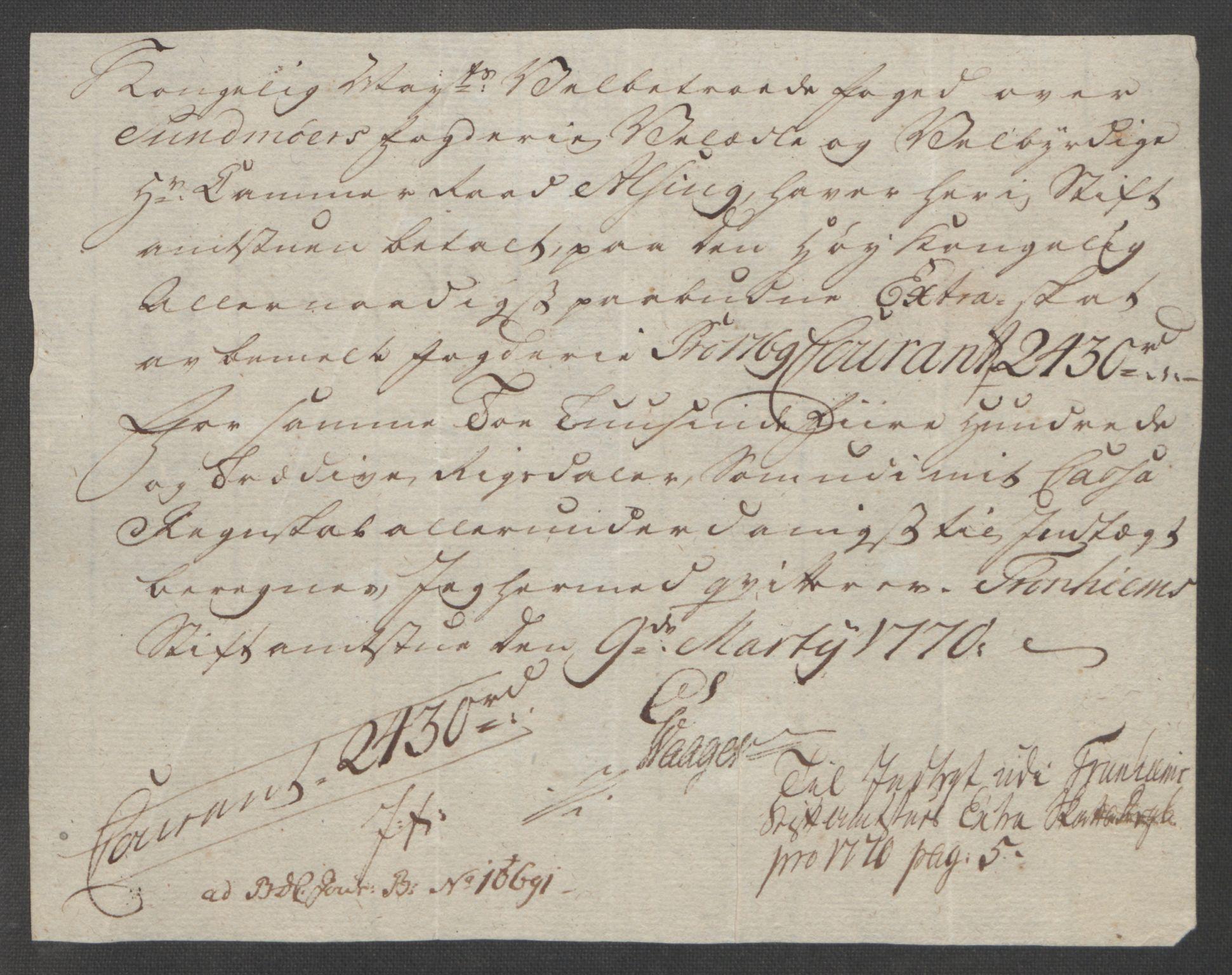 RA, Rentekammeret inntil 1814, Reviderte regnskaper, Fogderegnskap, R54/L3645: Ekstraskatten Sunnmøre, 1762-1772, s. 170