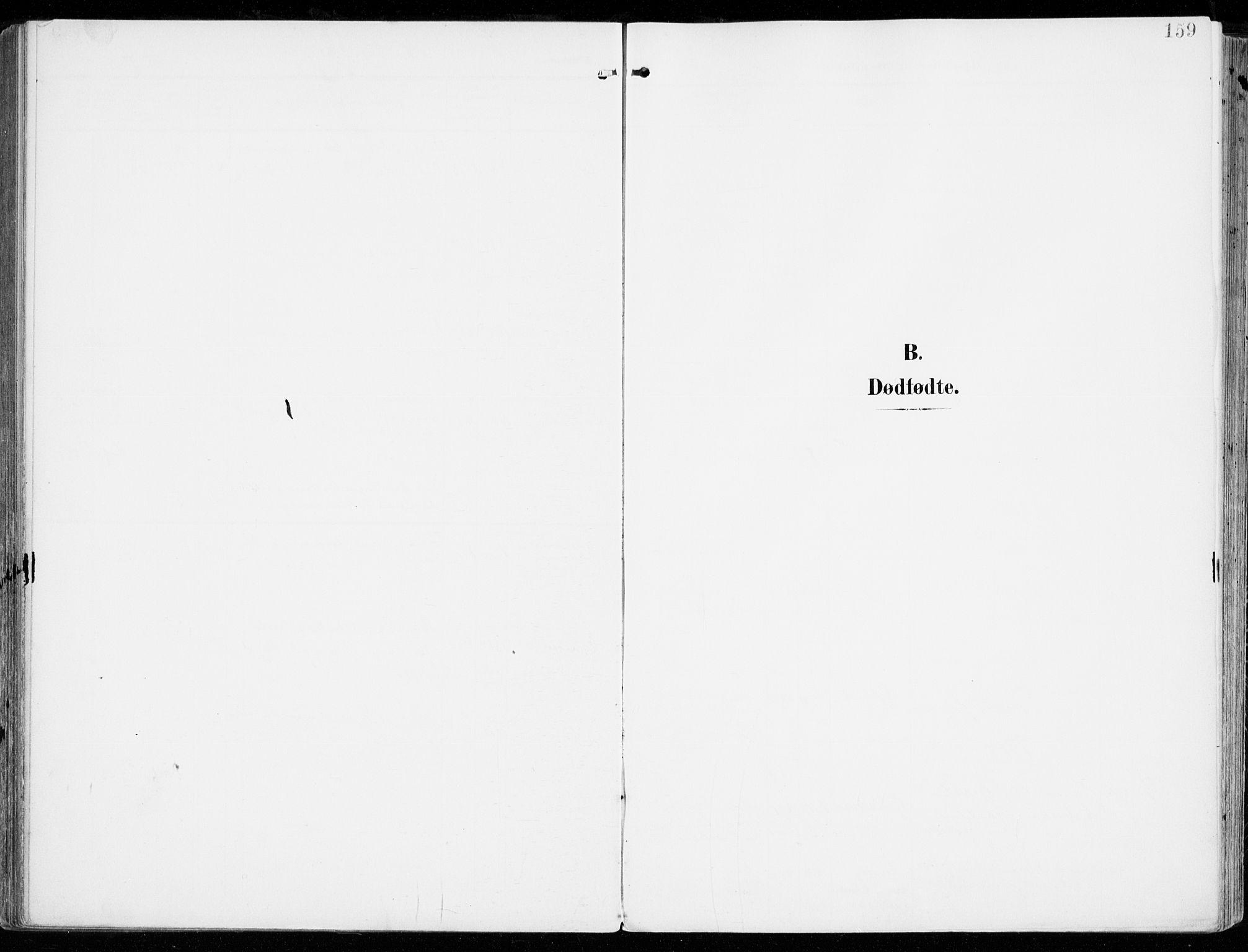 SAKO, Tjølling kirkebøker, F/Fa/L0010: Ministerialbok nr. 10, 1906-1923, s. 159