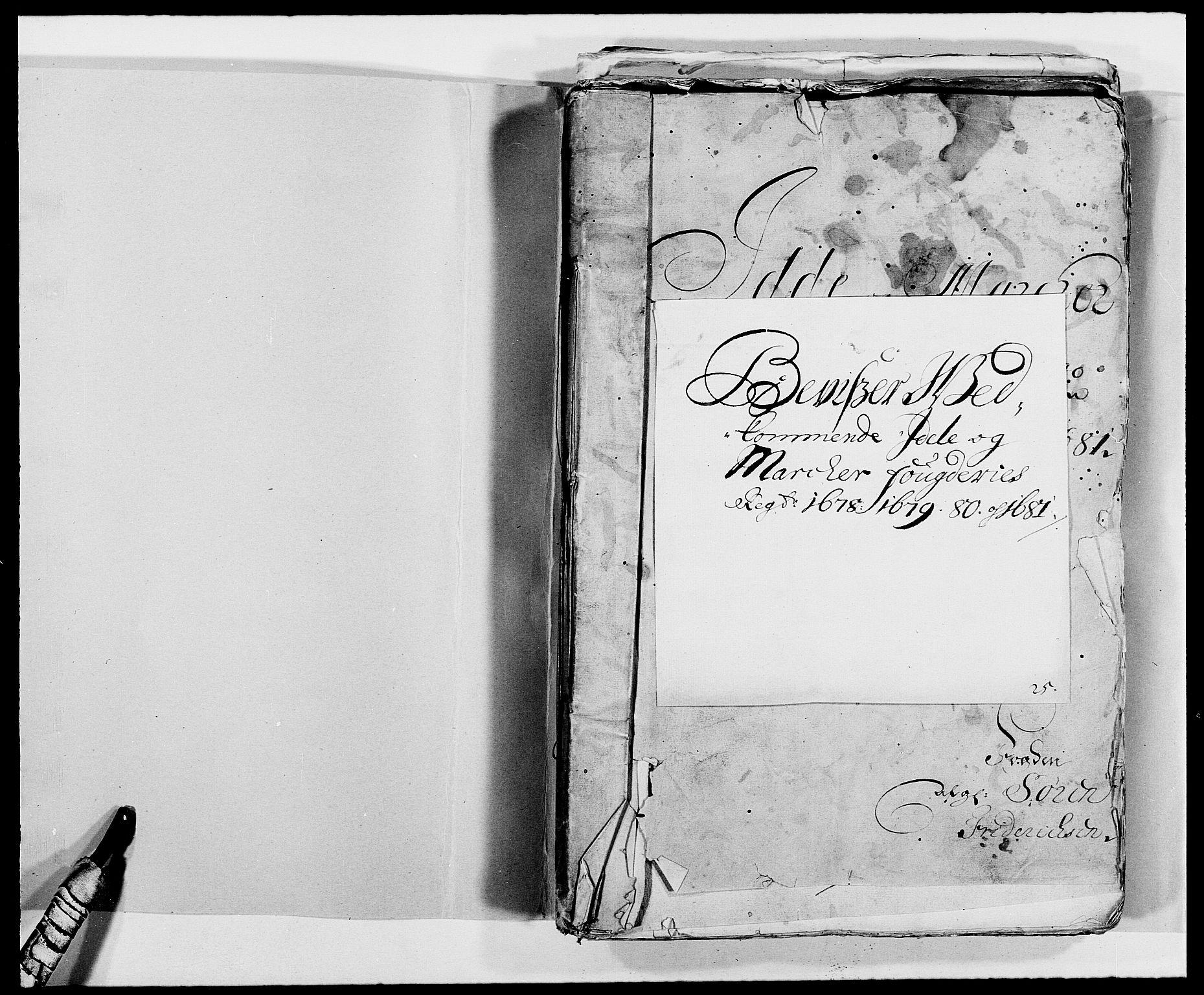 RA, Rentekammeret inntil 1814, Reviderte regnskaper, Fogderegnskap, R01/L0003: Fogderegnskap Idd og Marker, 1678-1681, s. 255