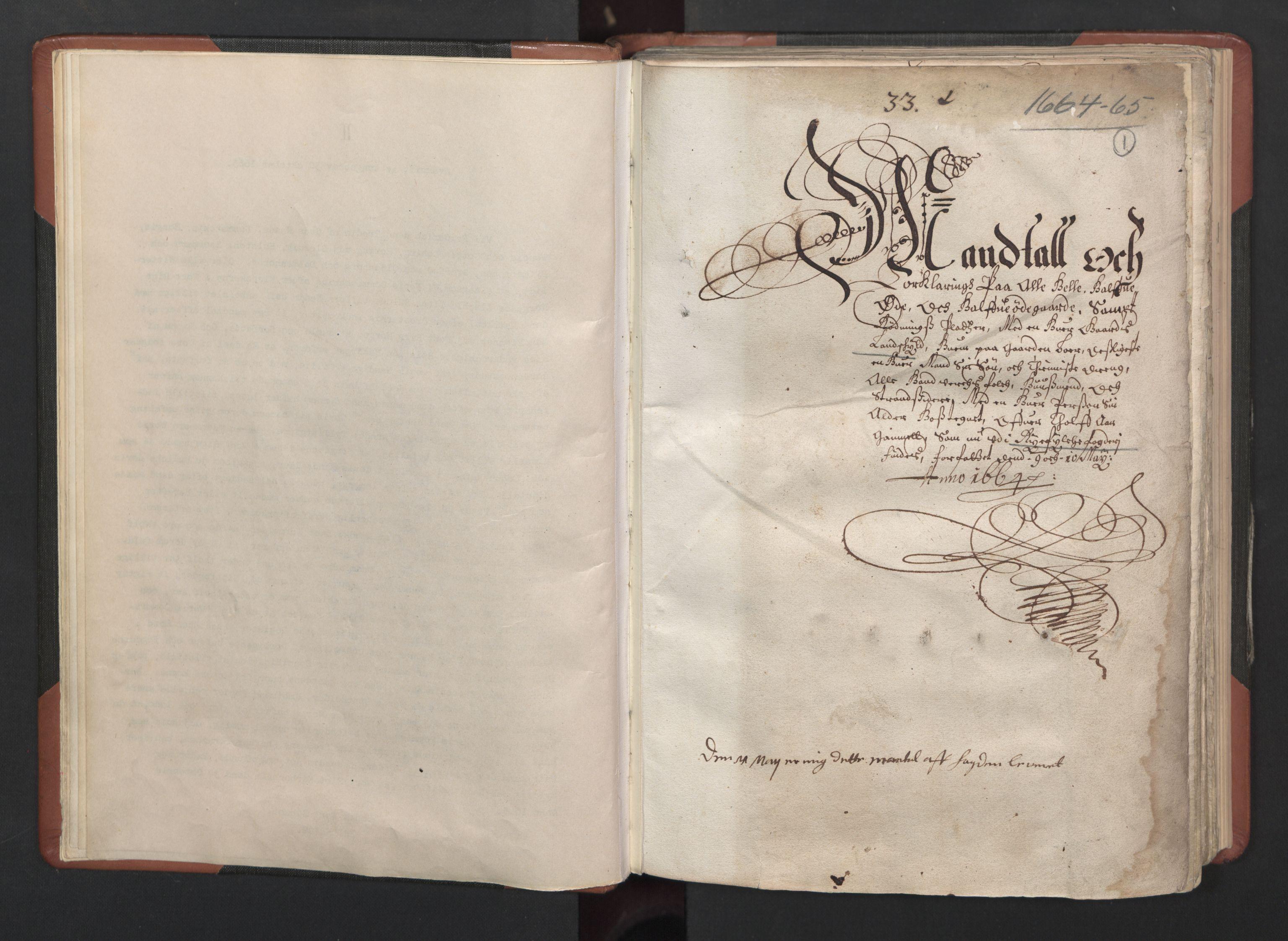 RA, Fogdenes og sorenskrivernes manntall 1664-1666, nr. 12: Ryfylke fogderi, 1664, s. 1