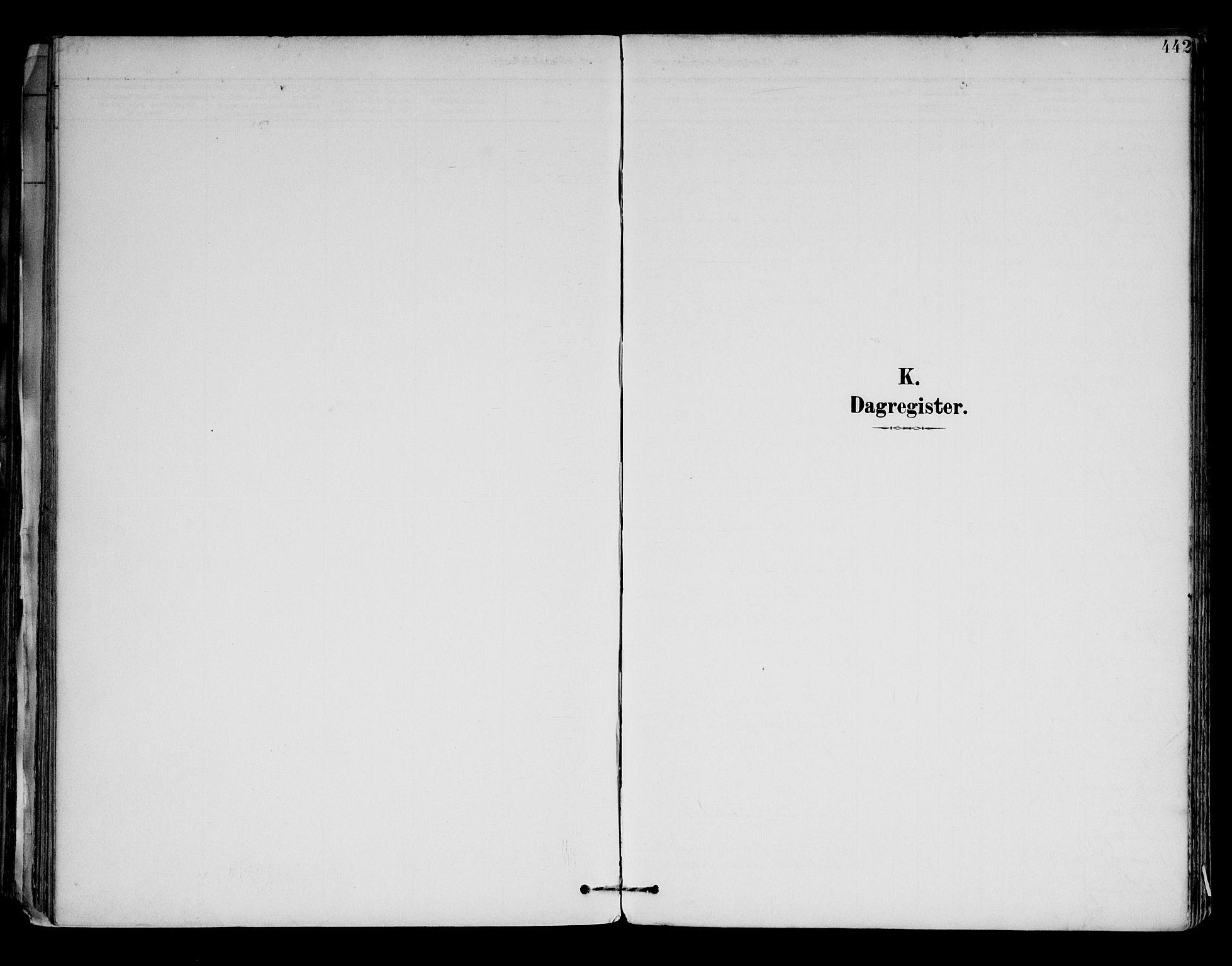SAH, Brandval prestekontor, H/Ha/Haa/L0003: Ministerialbok nr. 3, 1894-1909, s. 442