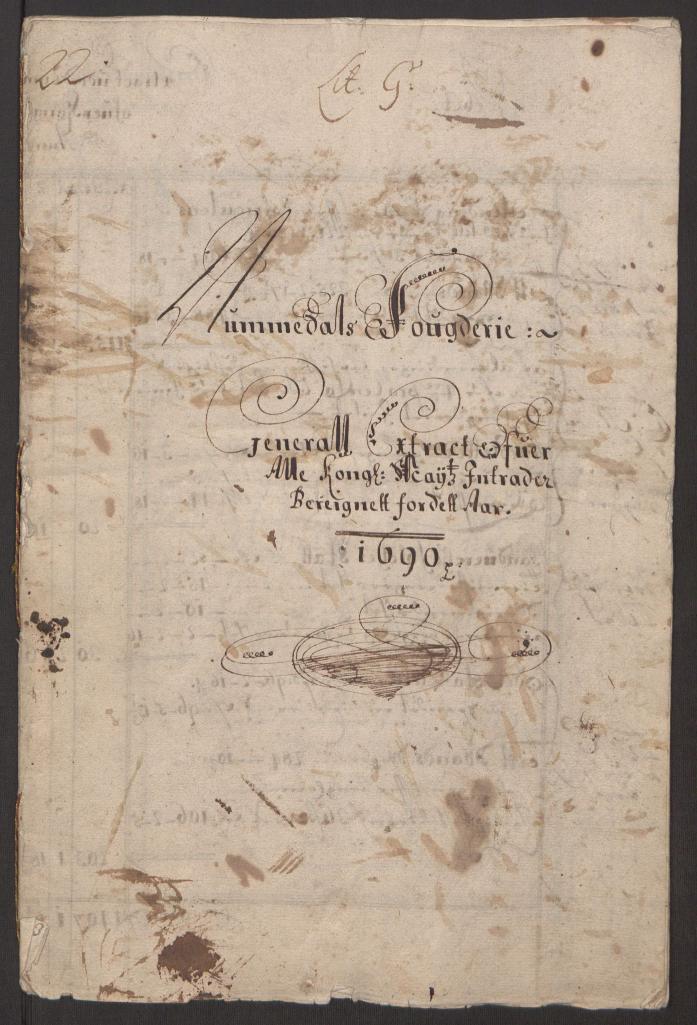 RA, Rentekammeret inntil 1814, Reviderte regnskaper, Fogderegnskap, R64/L4423: Fogderegnskap Namdal, 1690-1691, s. 3