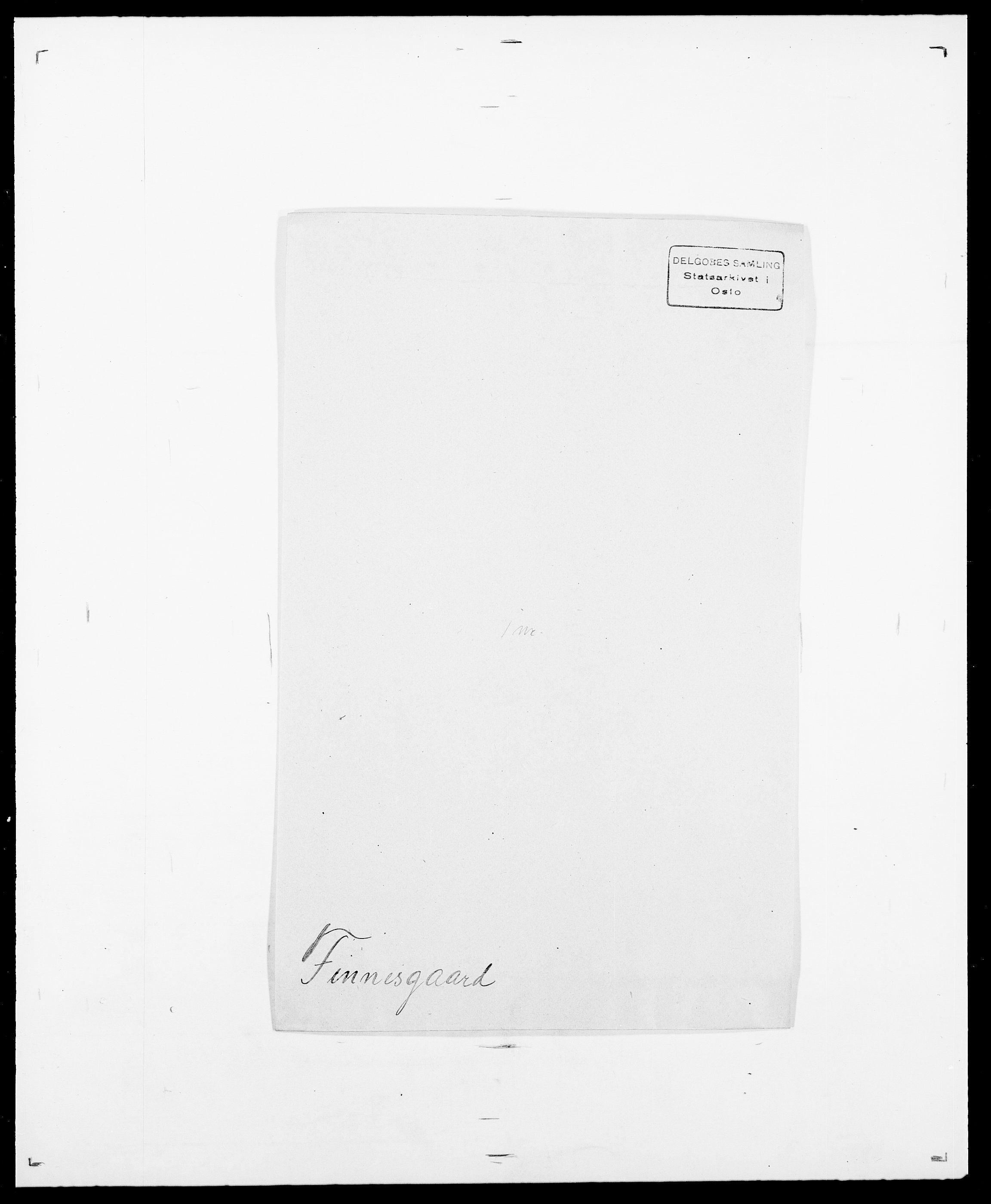 SAO, Delgobe, Charles Antoine - samling, D/Da/L0011: Fahlander - Flood, Flod, s. 511