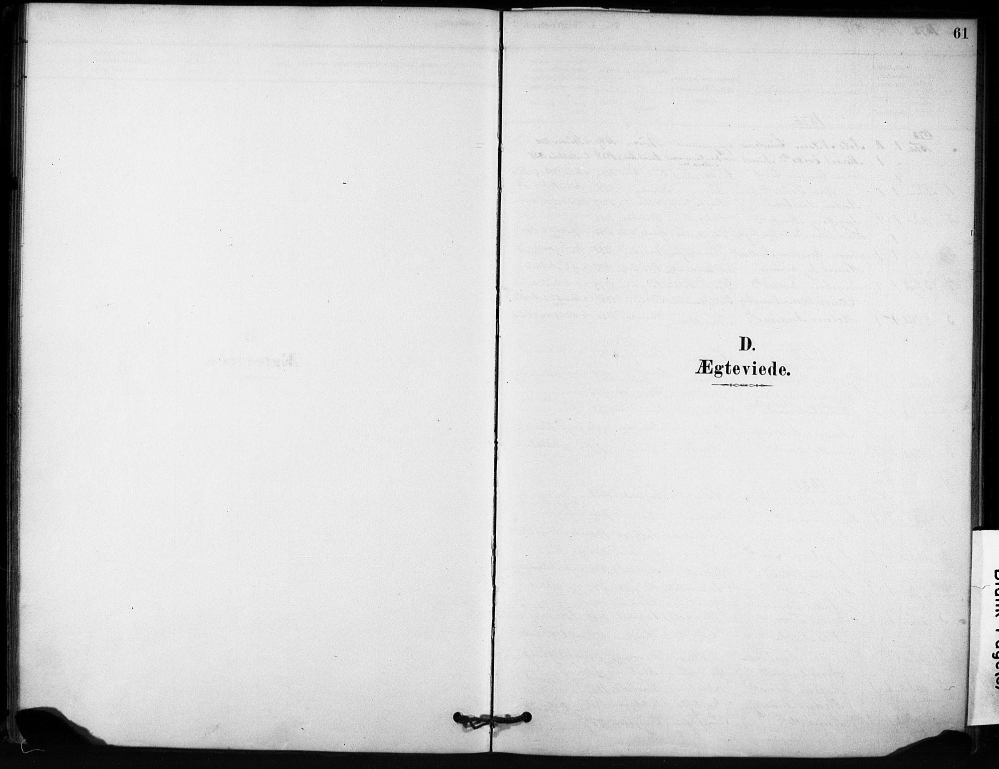 SAT, Ministerialprotokoller, klokkerbøker og fødselsregistre - Sør-Trøndelag, 666/L0786: Ministerialbok nr. 666A04, 1878-1895, s. 61