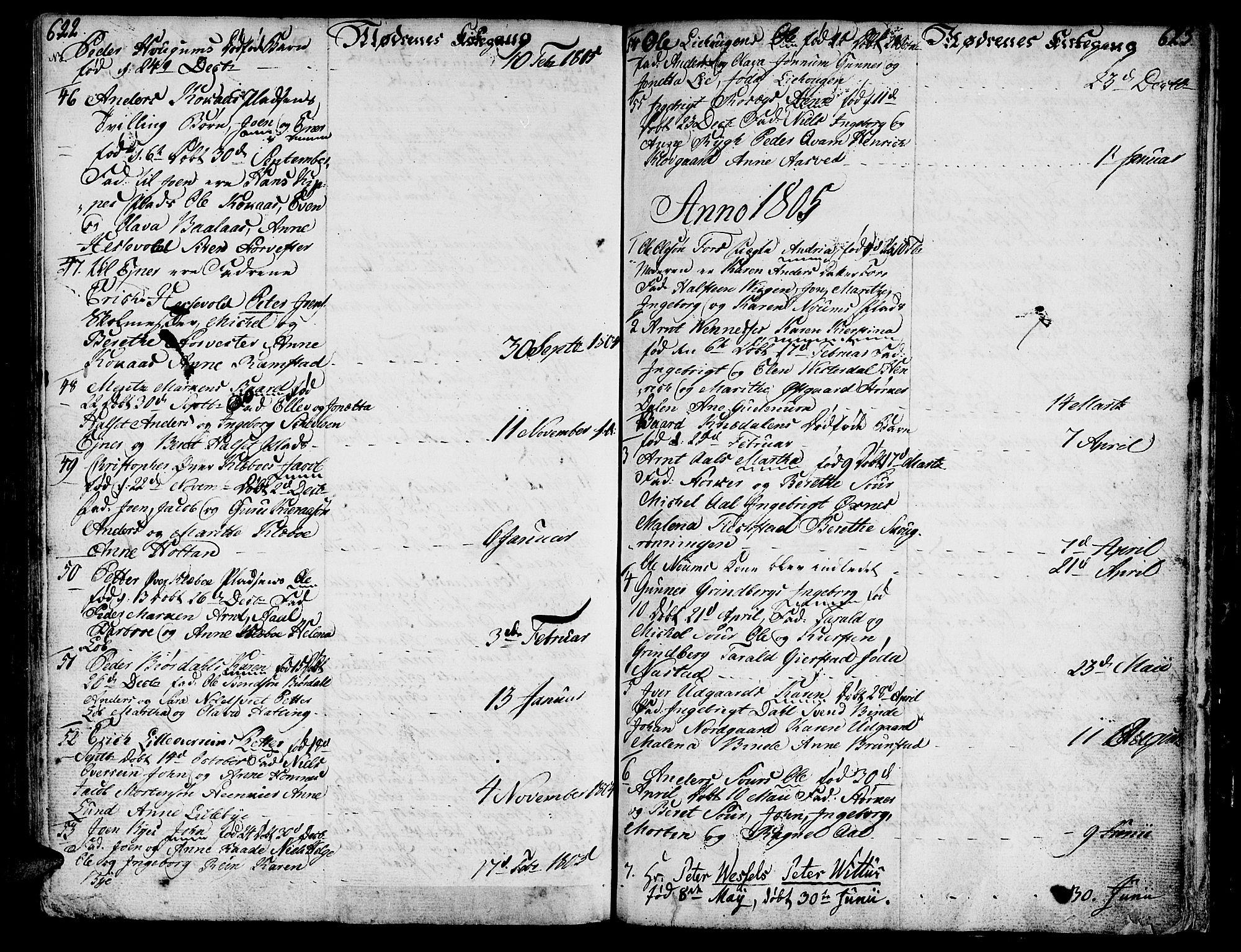 SAT, Ministerialprotokoller, klokkerbøker og fødselsregistre - Nord-Trøndelag, 746/L0440: Ministerialbok nr. 746A02, 1760-1815, s. 622-623