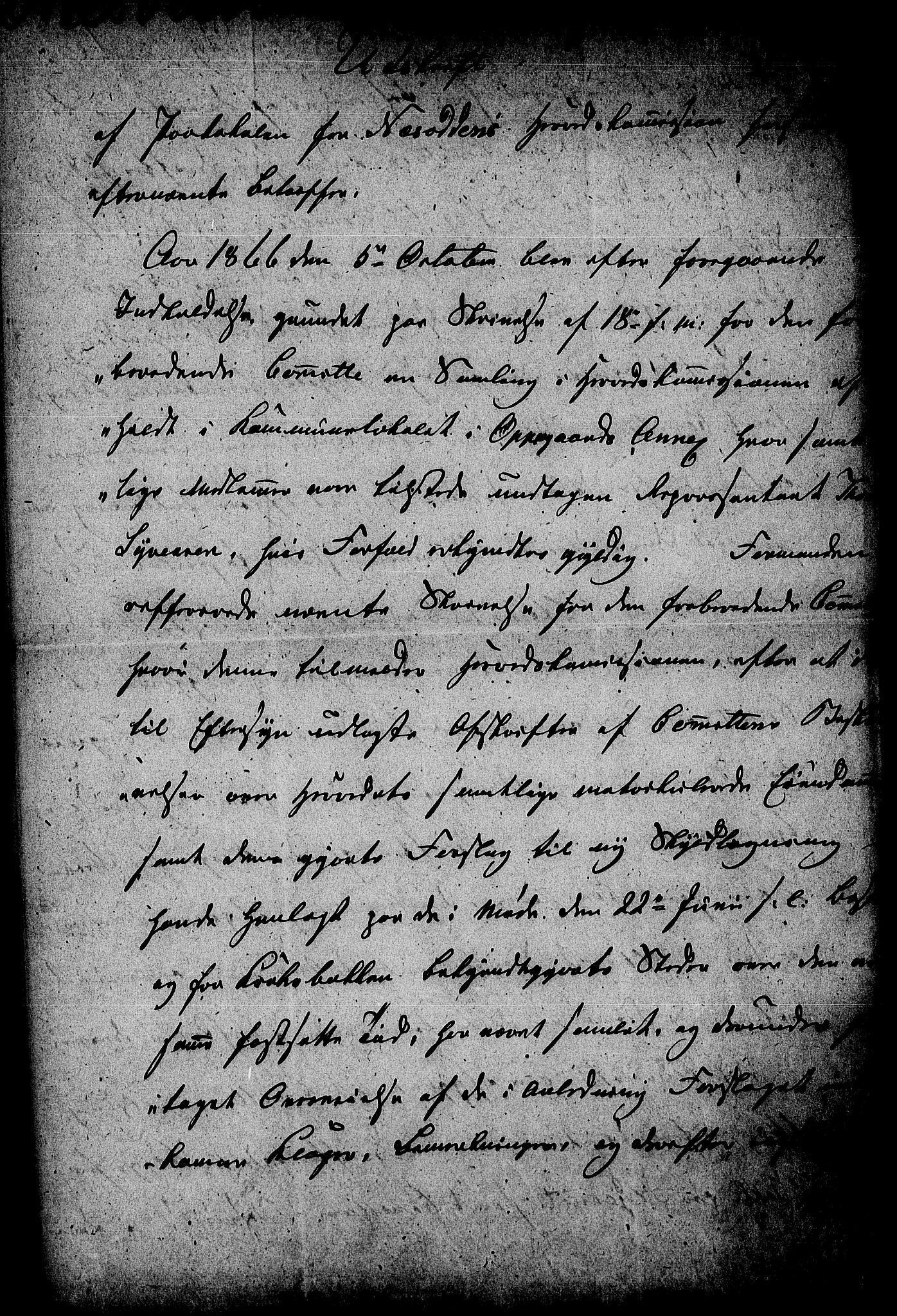 RA, Matrikkelrevisjonen av 1863, F/Fe/L0027: Nesodden, 1863