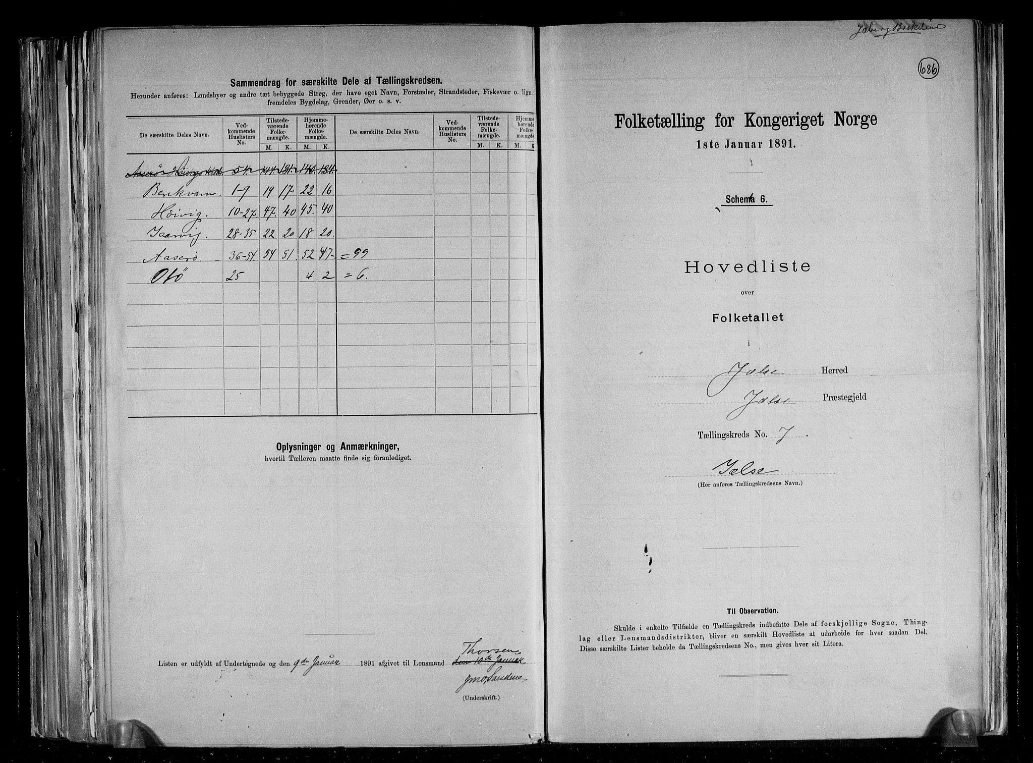 RA, Folketelling 1891 for 1138 Jelsa herred, 1891, s. 18