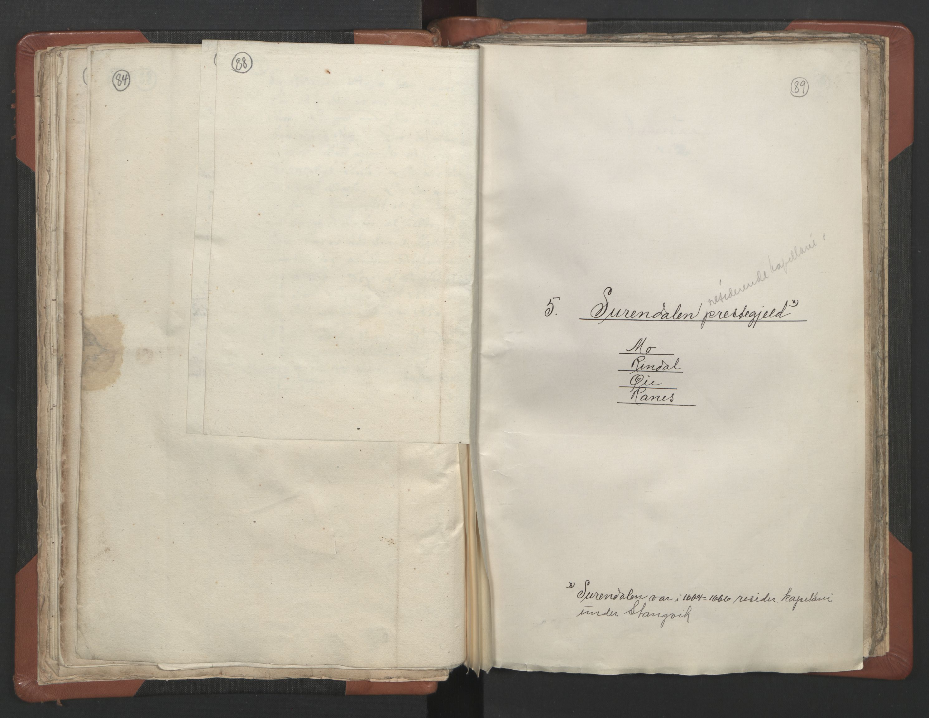 RA, Sogneprestenes manntall 1664-1666, nr. 29: Nordmøre prosti, 1664-1666, s. 88-89