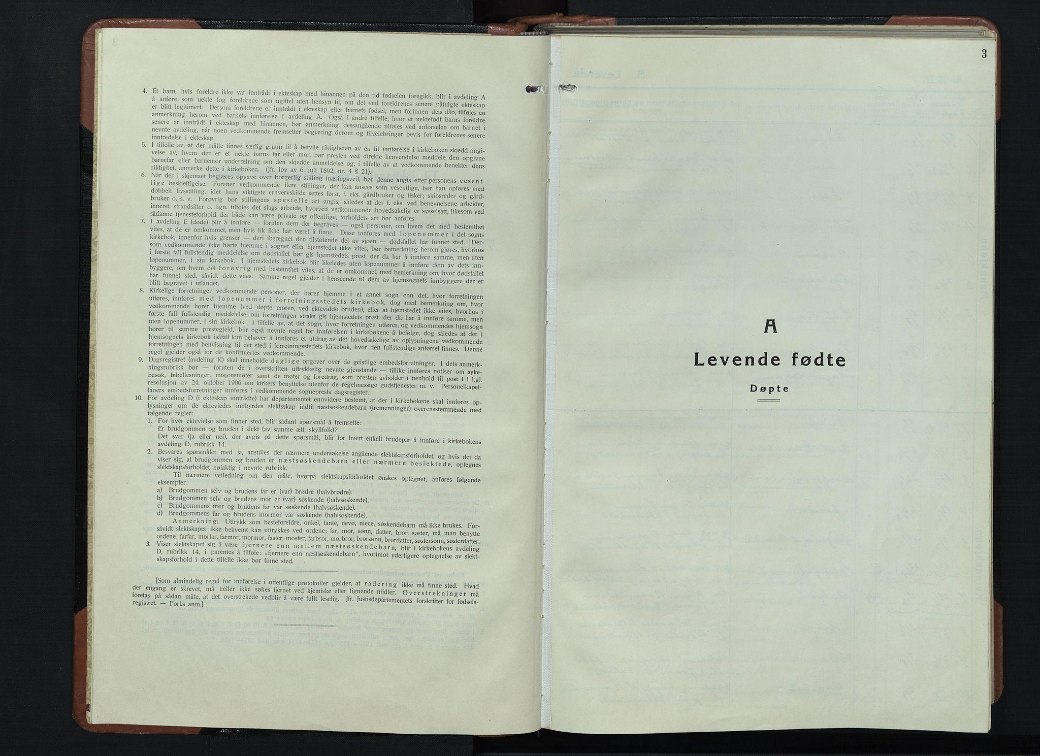 SAH, Vardal prestekontor, H/Ha/Hab/L0018: Klokkerbok nr. 18, 1931-1951, s. 3