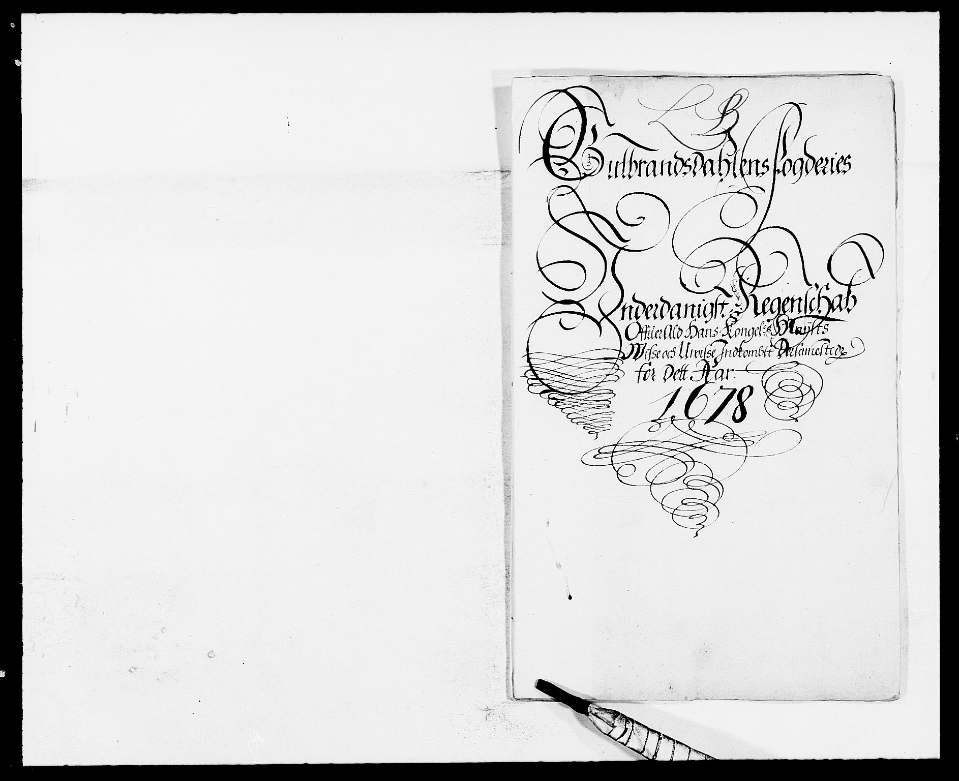 RA, Rentekammeret inntil 1814, Reviderte regnskaper, Fogderegnskap, R17/L1152: Fogderegnskap Gudbrandsdal, 1678-1679, s. 187