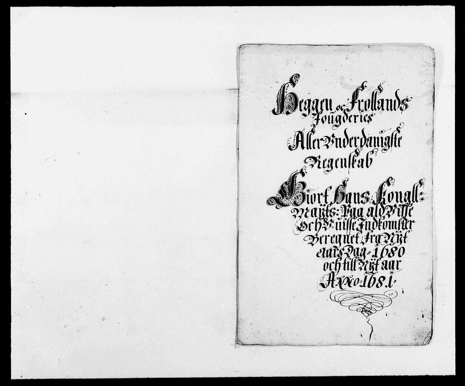 RA, Rentekammeret inntil 1814, Reviderte regnskaper, Fogderegnskap, R06/L0279: Fogderegnskap Heggen og Frøland, 1678-1680, s. 373