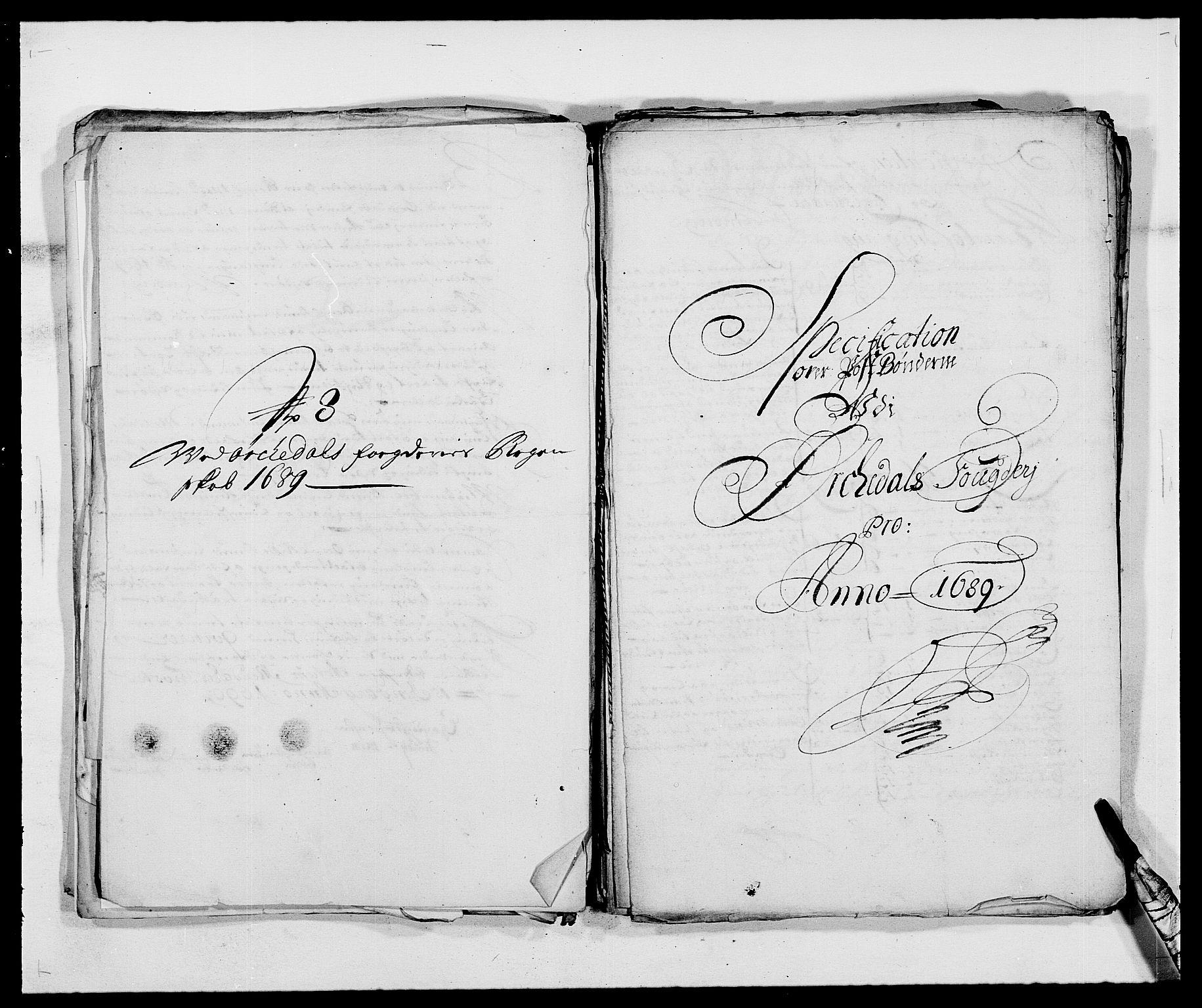 RA, Rentekammeret inntil 1814, Reviderte regnskaper, Fogderegnskap, R58/L3936: Fogderegnskap Orkdal, 1689-1690, s. 191