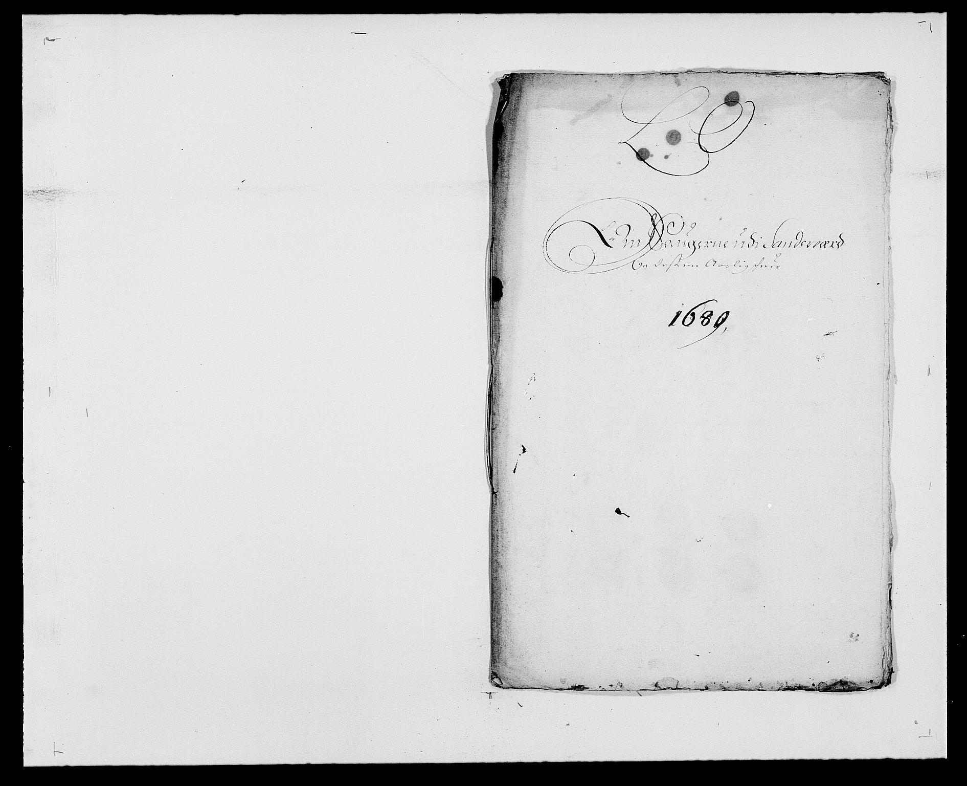 RA, Rentekammeret inntil 1814, Reviderte regnskaper, Fogderegnskap, R24/L1569: Fogderegnskap Numedal og Sandsvær, 1679-1686, s. 203