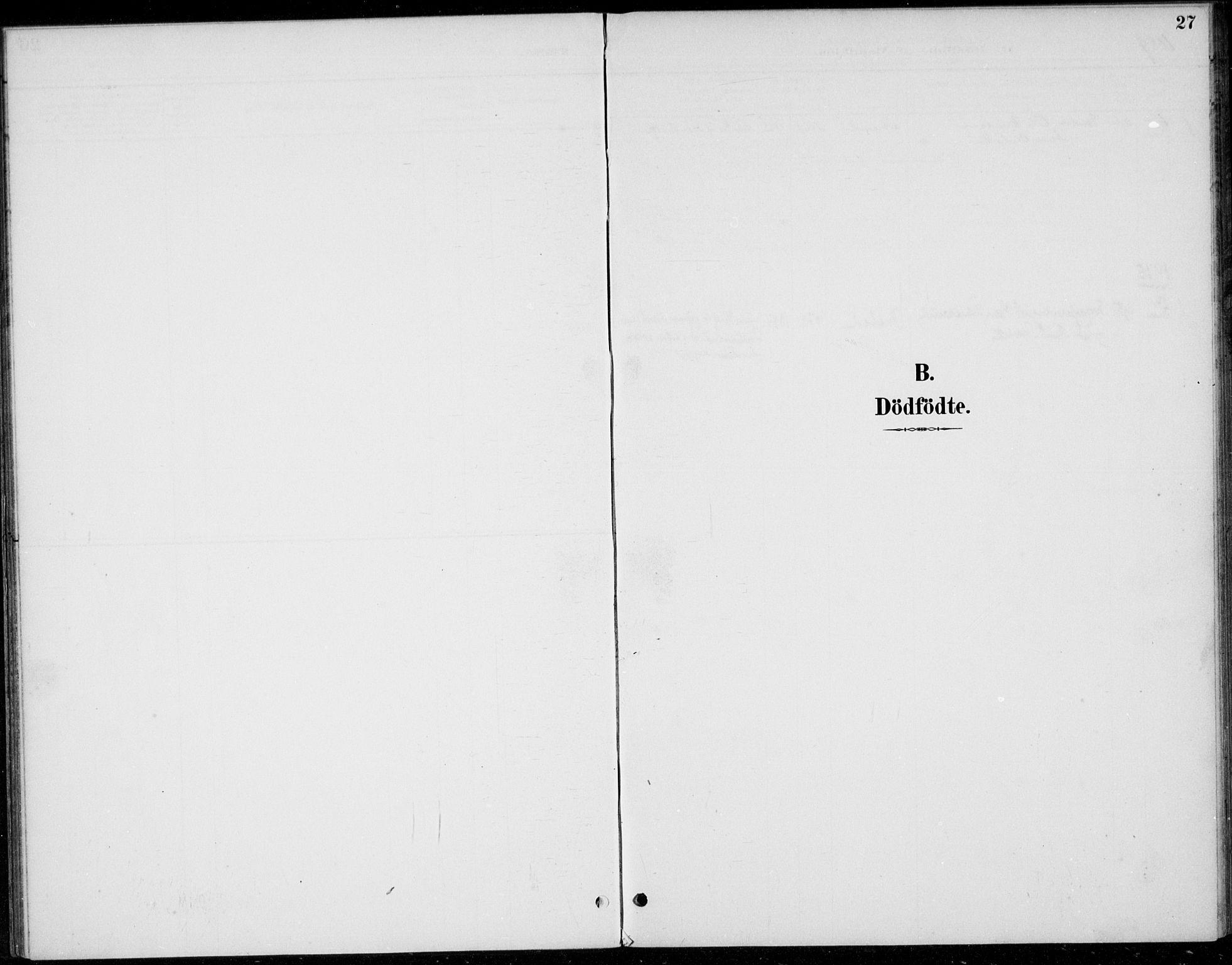 SAH, Øystre Slidre prestekontor, Ministerialbok nr. 5, 1887-1916, s. 27