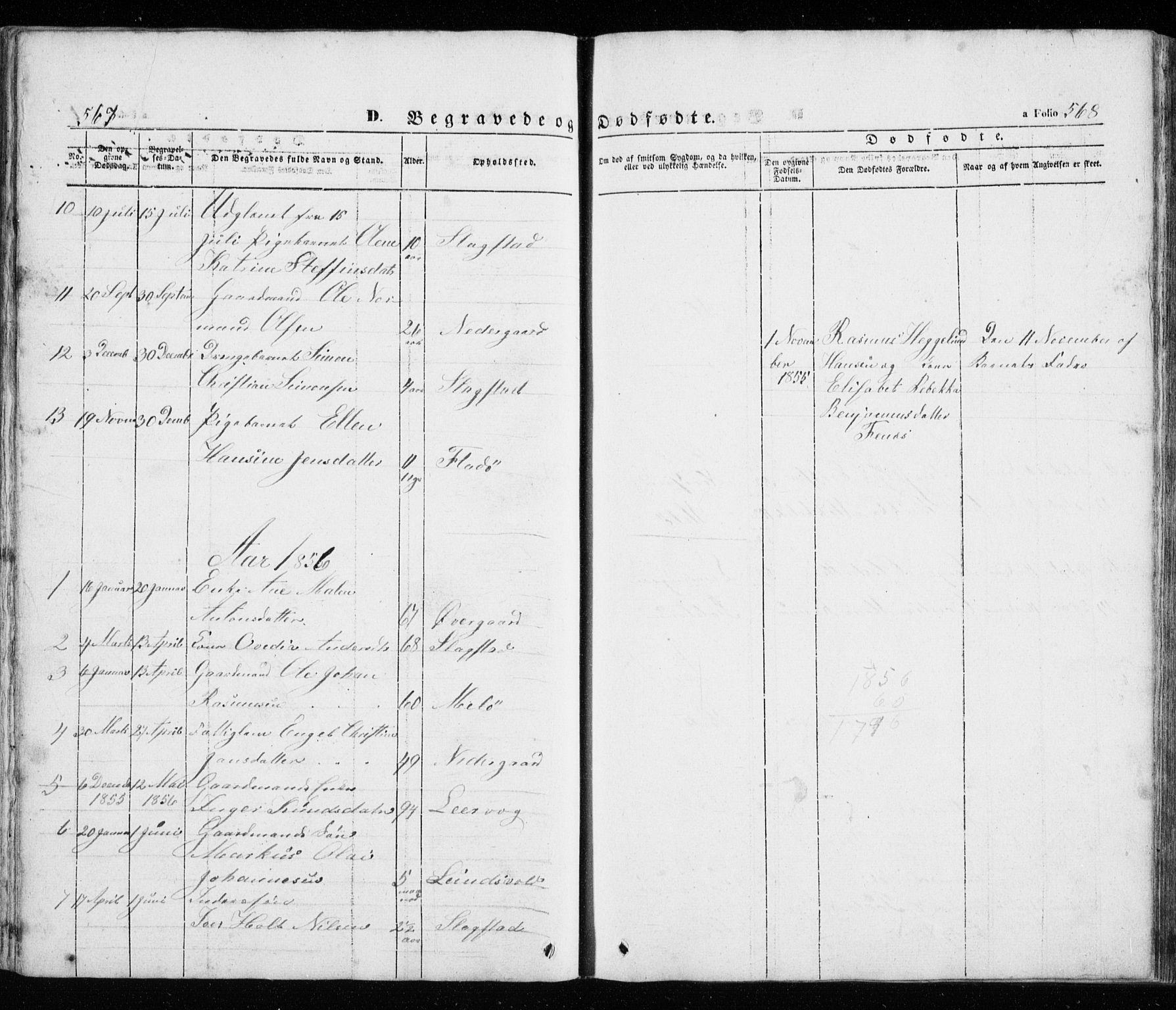 SATØ, Trondenes sokneprestkontor, H/Ha/L0010kirke: Ministerialbok nr. 10, 1840-1865, s. 567-568