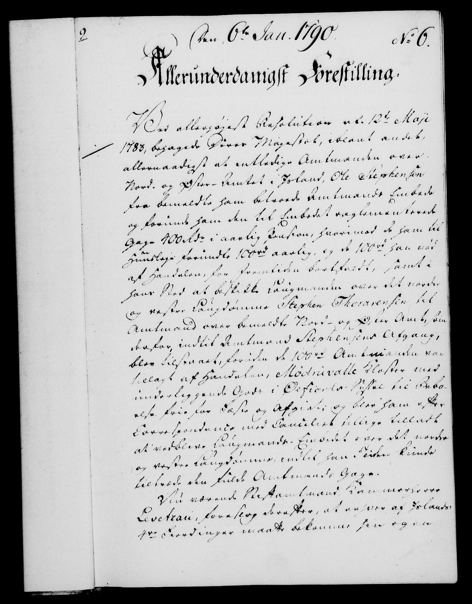 RA, Rentekammeret, Kammerkanselliet, G/Gf/Gfa/L0072: Norsk relasjons- og resolusjonsprotokoll (merket RK 52.72), 1790, s. 48
