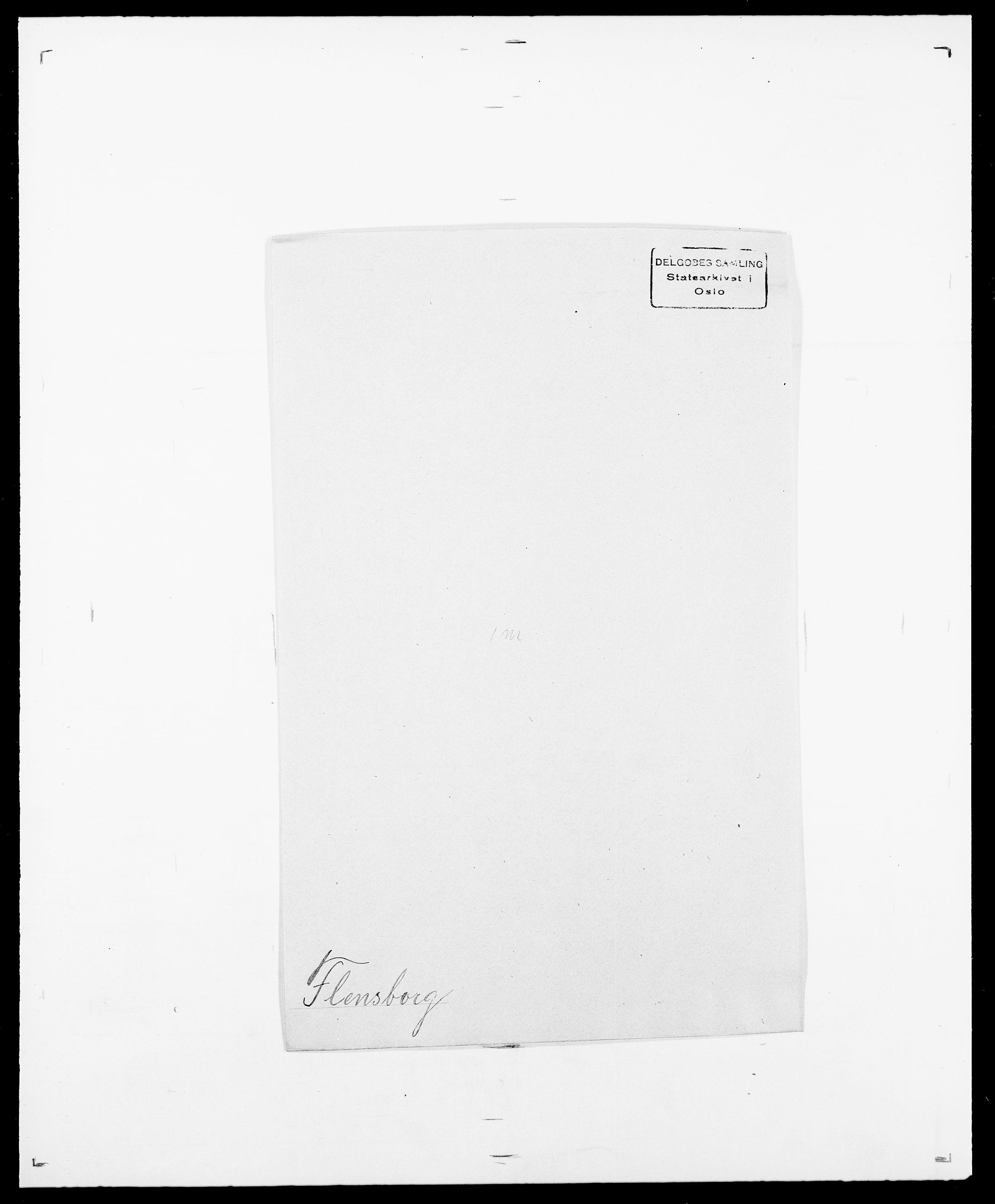 SAO, Delgobe, Charles Antoine - samling, D/Da/L0011: Fahlander - Flood, Flod, s. 625