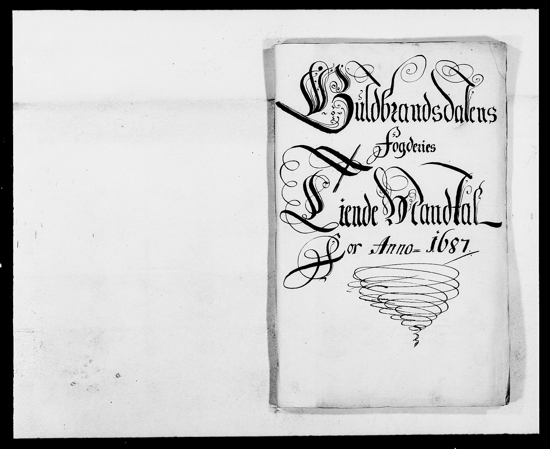 RA, Rentekammeret inntil 1814, Reviderte regnskaper, Fogderegnskap, R17/L1162: Fogderegnskap Gudbrandsdal, 1682-1689, s. 44