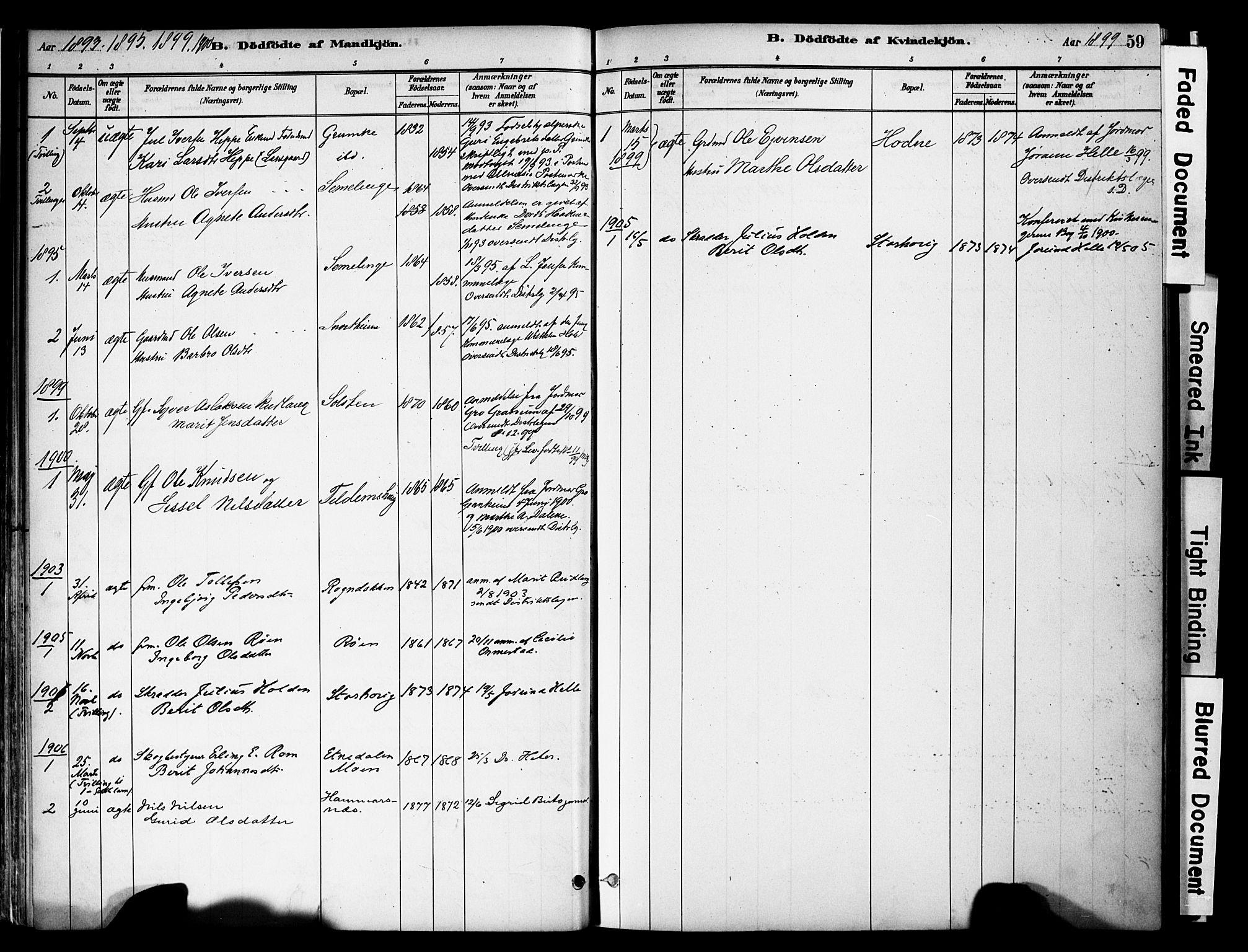 SAH, Vestre Slidre prestekontor, Ministerialbok nr. 6, 1881-1912, s. 59