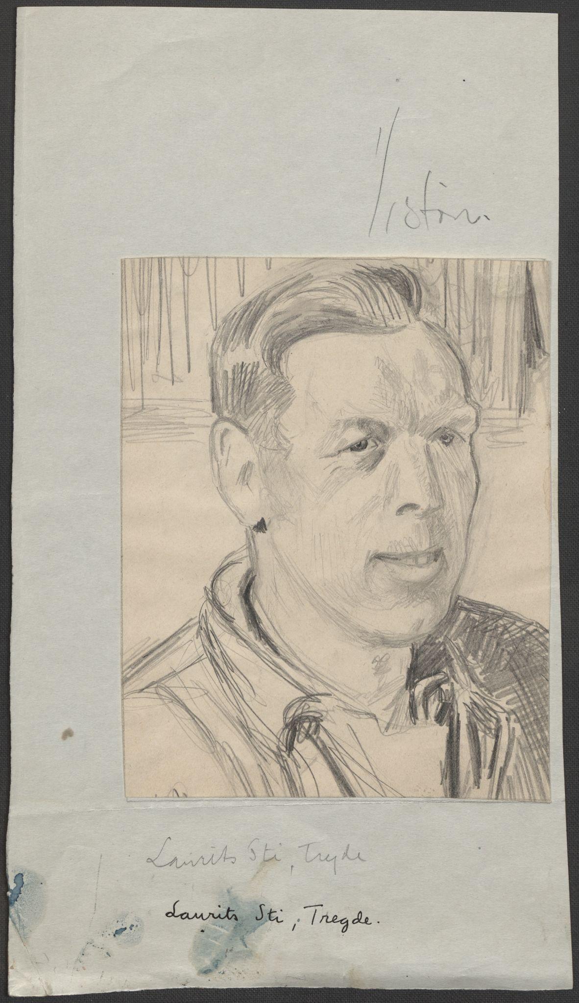 RA, Grøgaard, Joachim, F/L0002: Tegninger og tekster, 1942-1945, s. 91