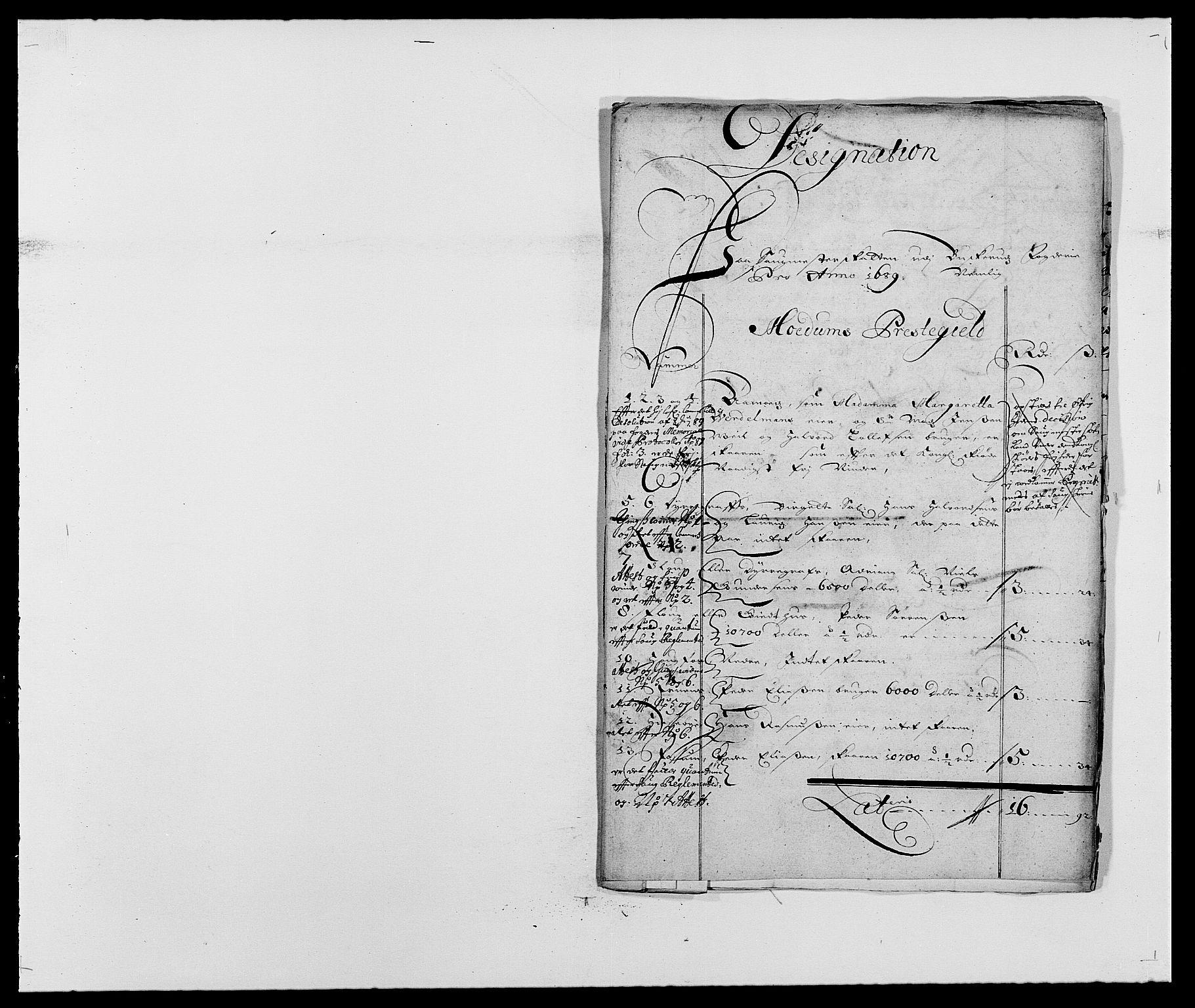RA, Rentekammeret inntil 1814, Reviderte regnskaper, Fogderegnskap, R25/L1680: Fogderegnskap Buskerud, 1689-1690, s. 158