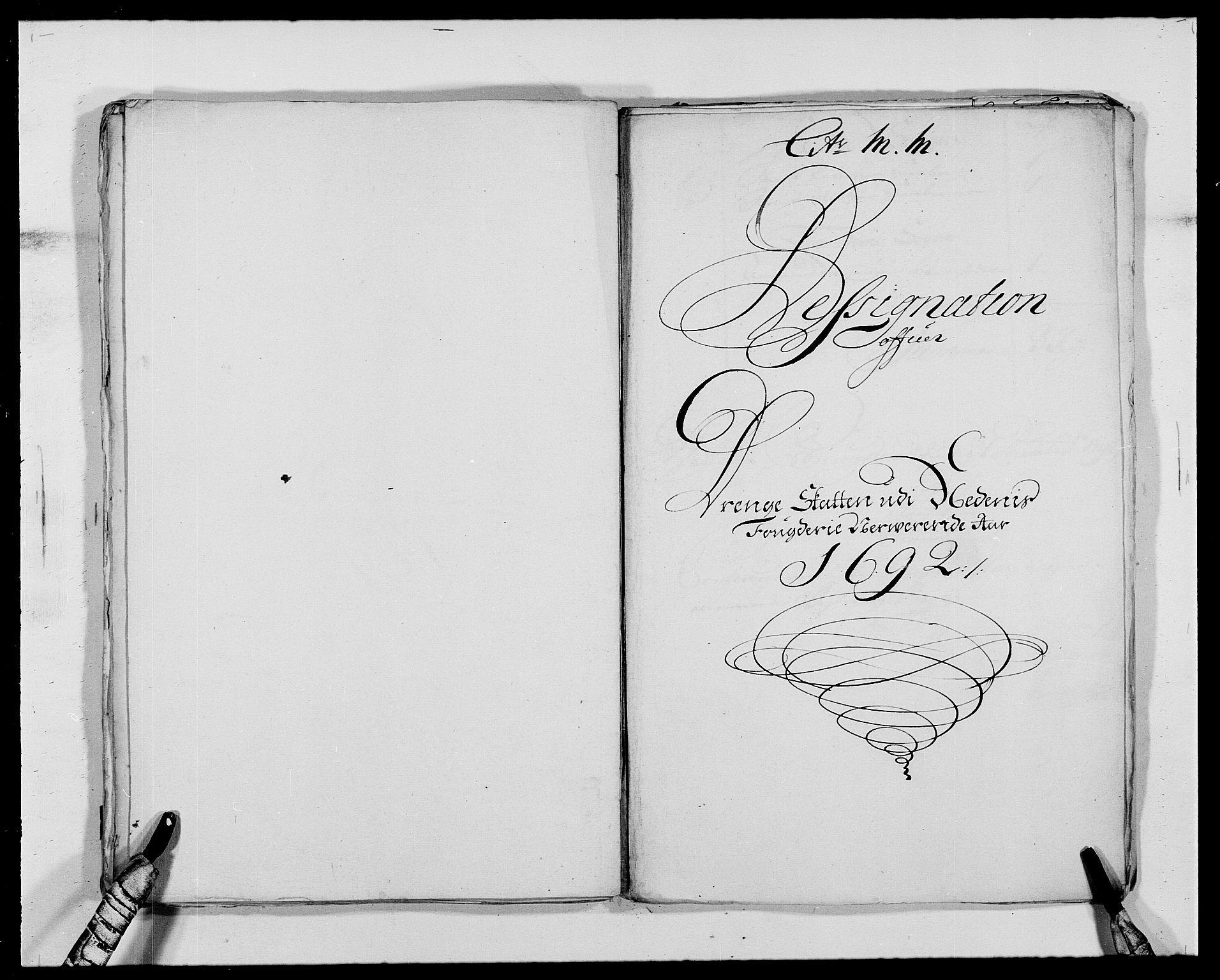 RA, Rentekammeret inntil 1814, Reviderte regnskaper, Fogderegnskap, R39/L2311: Fogderegnskap Nedenes, 1690-1692, s. 233