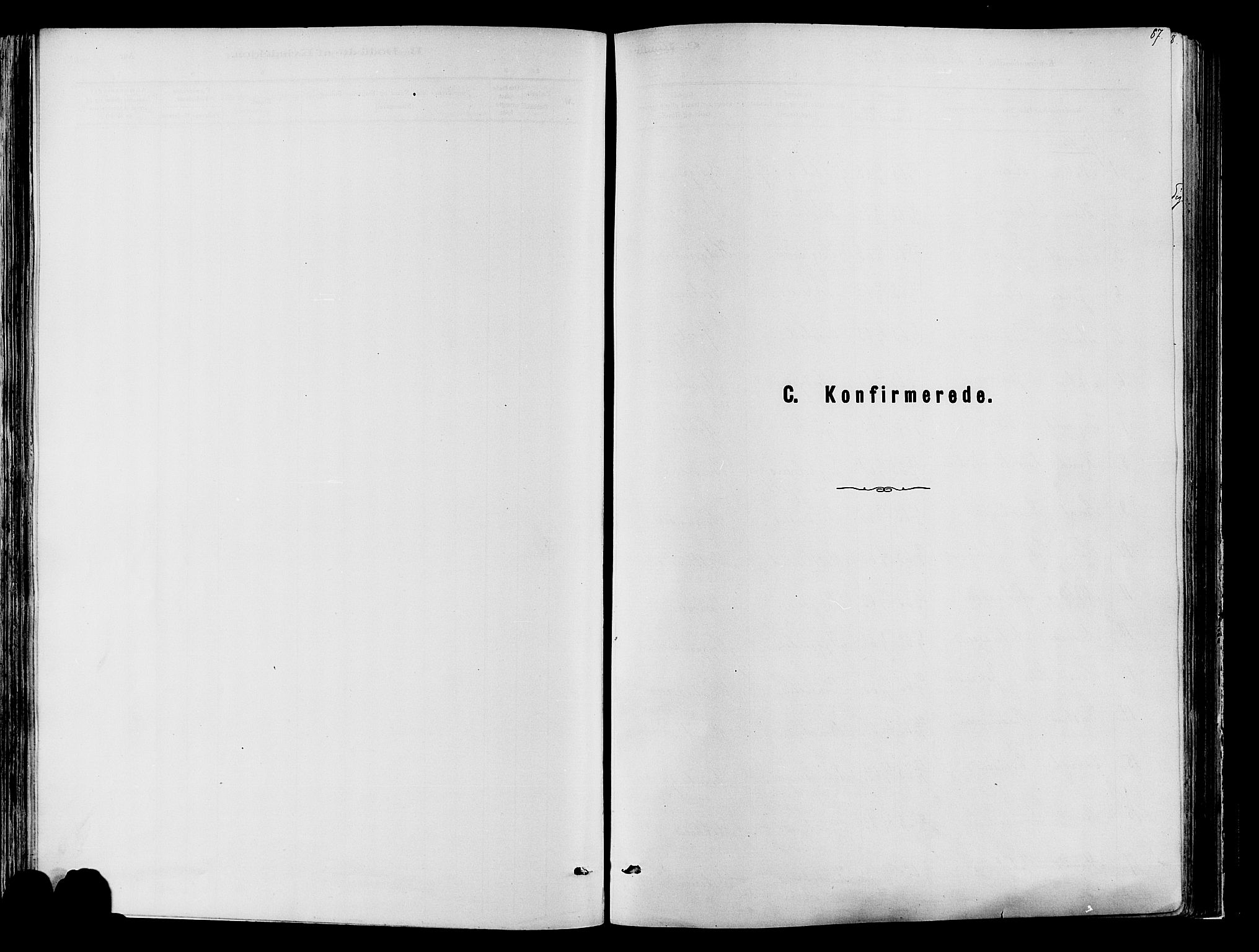 SAH, Vardal prestekontor, H/Ha/Haa/L0009: Ministerialbok nr. 9, 1878-1892, s. 87