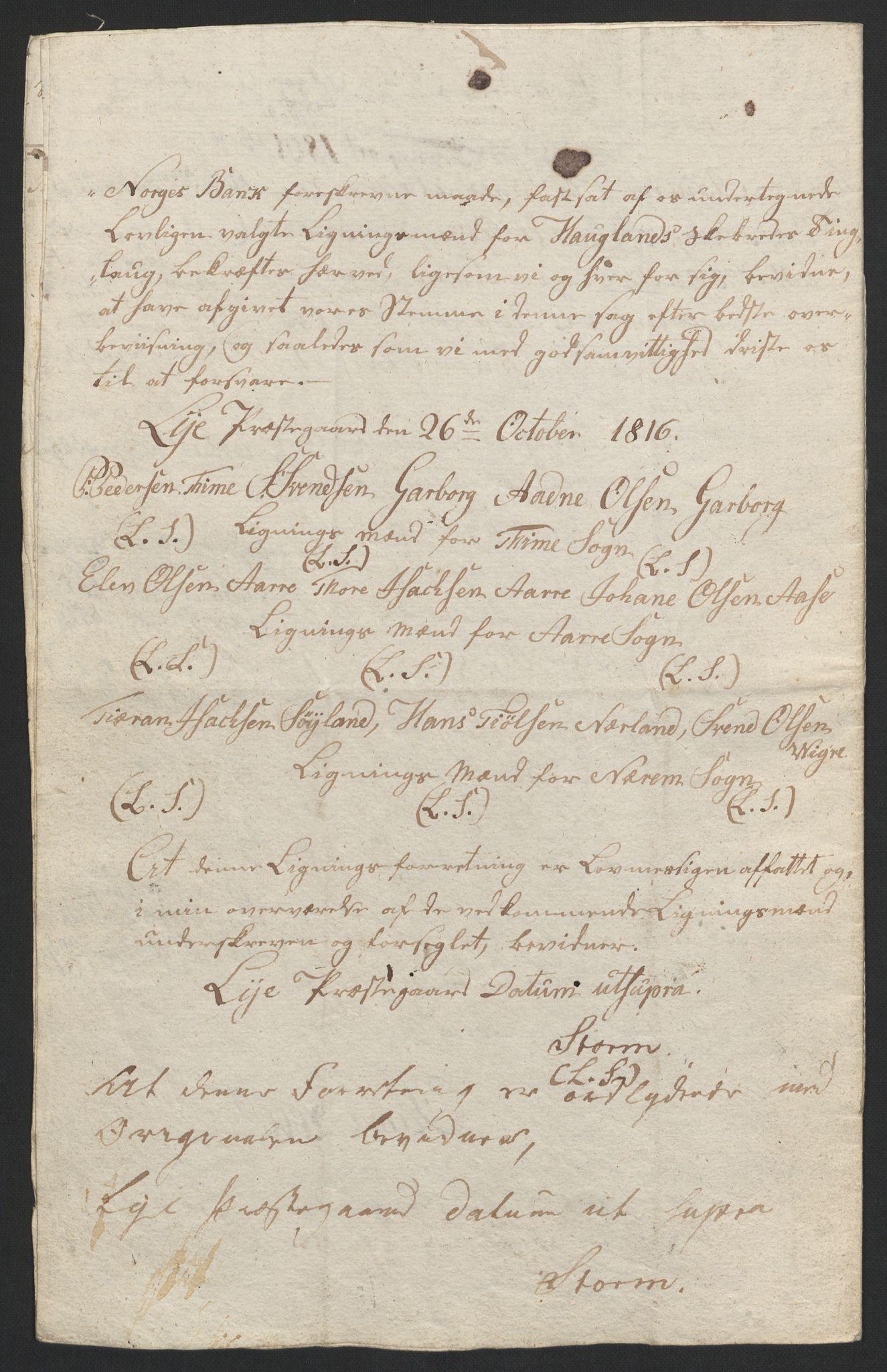 NOBA, Norges Bank/Sølvskatten 1816*, 1816-1825, s. 82