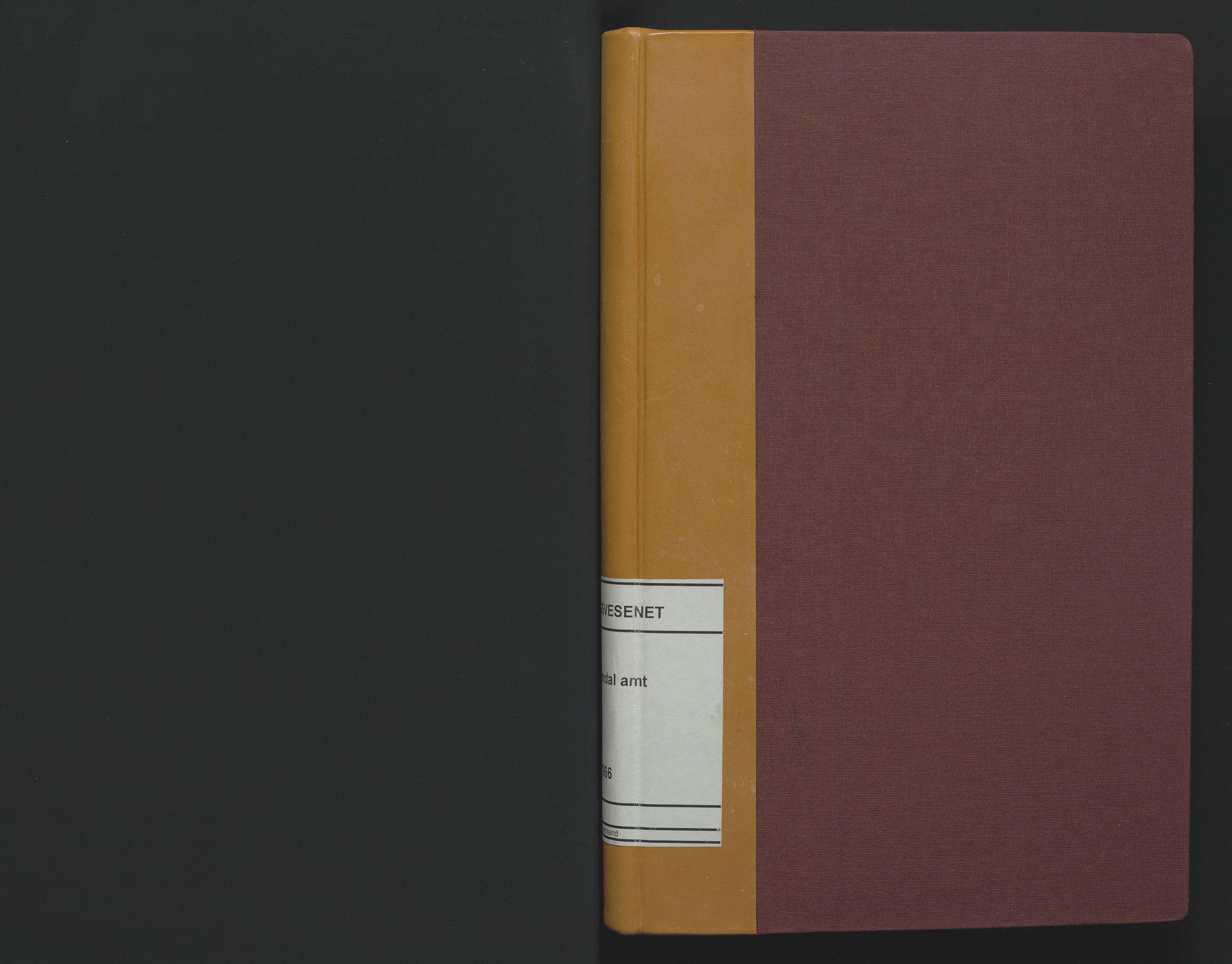 SAK, Utskiftningsformannen i Lister og Mandal amt, F/Fa/Faa/L0004: Utskiftningsprotokoll med register nr 4, 1862-1866