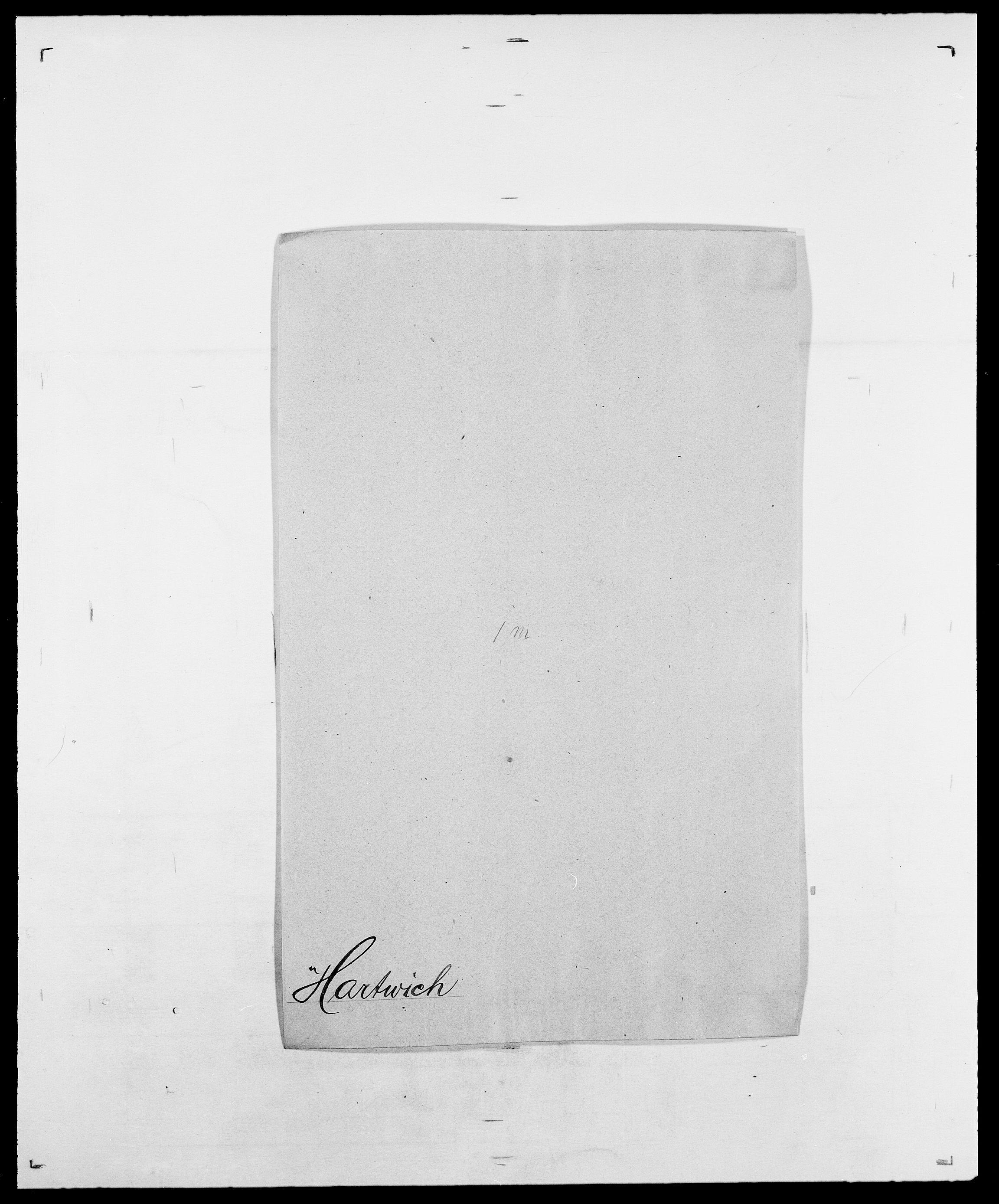 SAO, Delgobe, Charles Antoine - samling, D/Da/L0016: Hamborg - Hektoen, s. 461