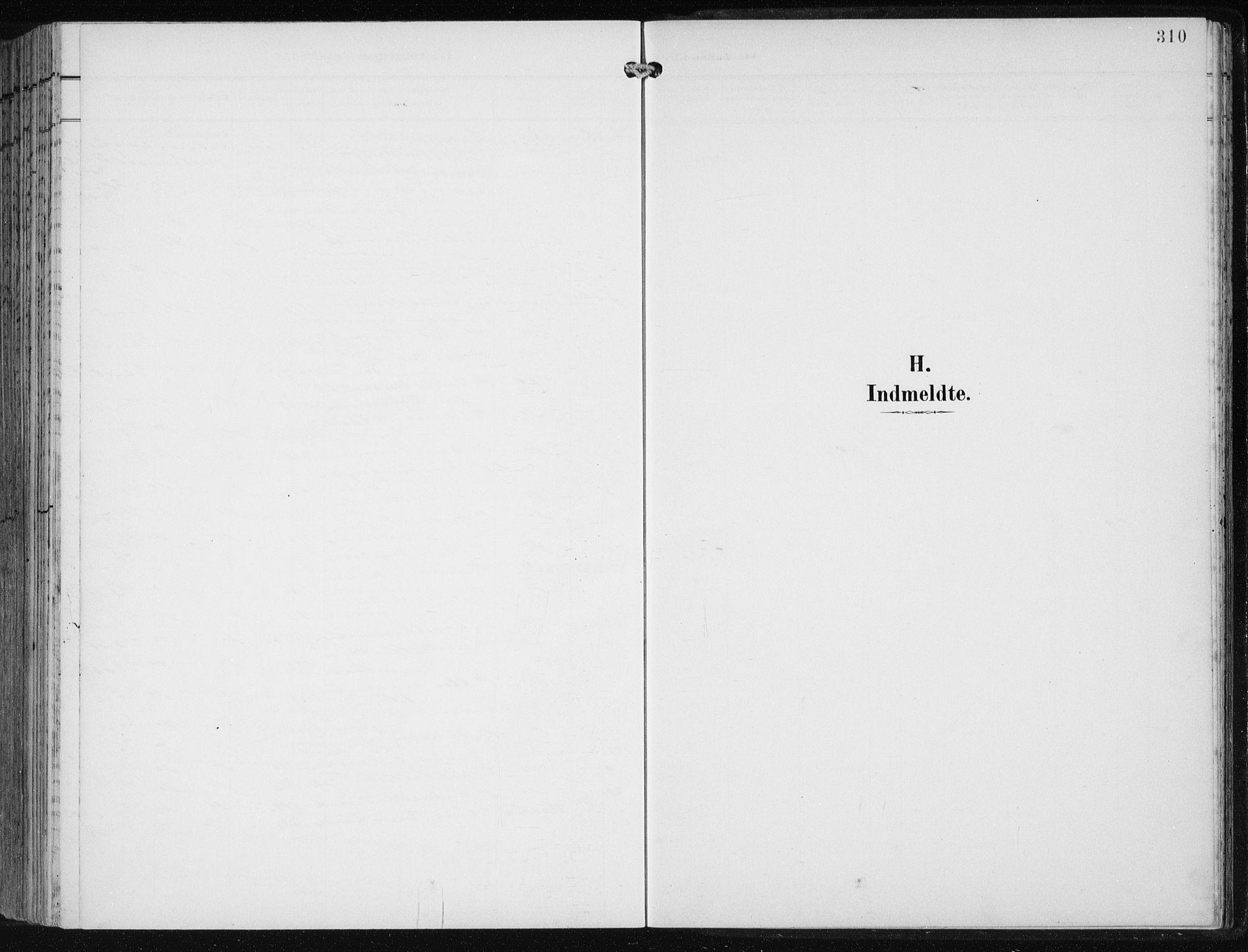 SAB, Fjell sokneprestembete, H/Haa: Ministerialbok nr. A  9, 1899-1910, s. 310