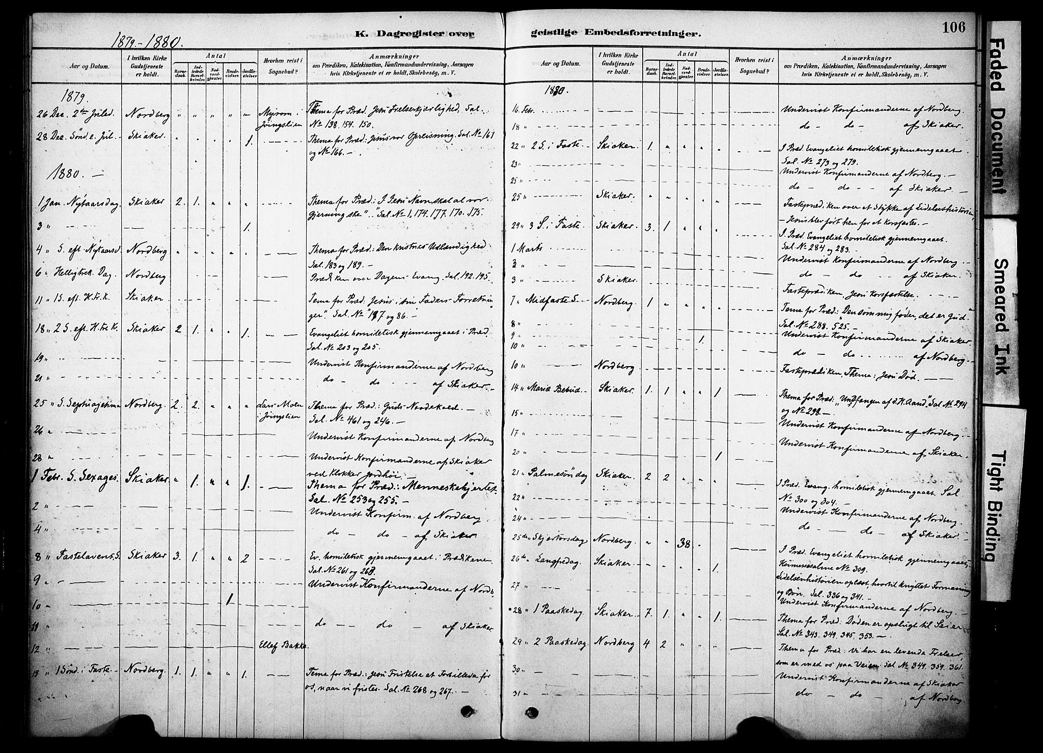 SAH, Skjåk prestekontor, Ministerialbok nr. 2, 1878-1907, s. 106