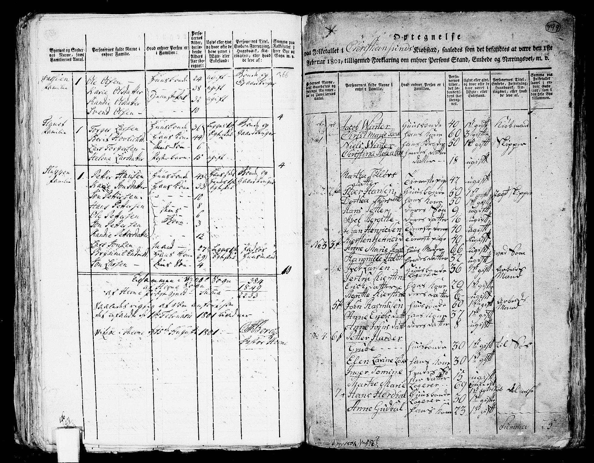 RA, Folketelling 1801 for 1553P Kvernes prestegjeld, 1801, s. 798b-799a