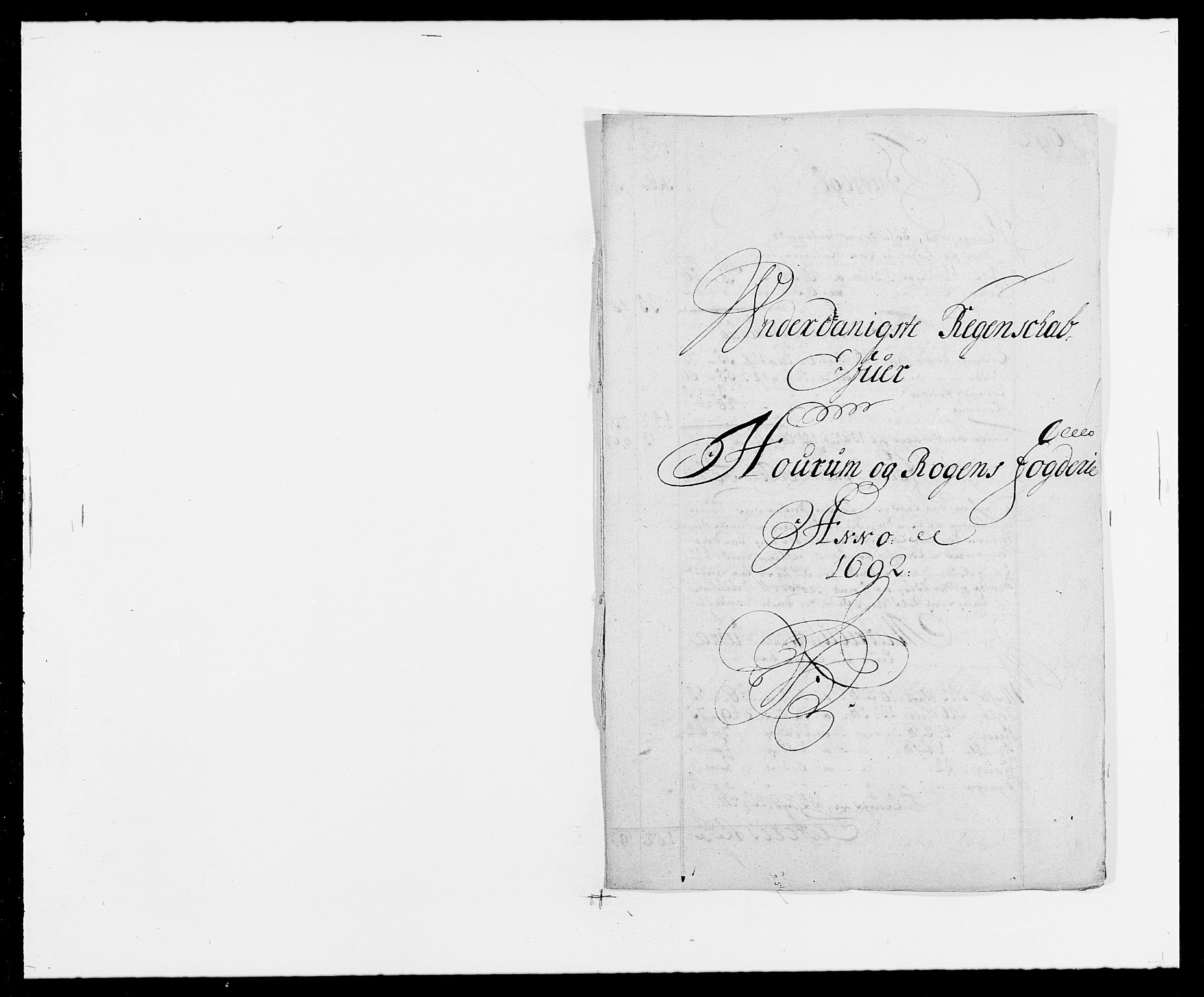 RA, Rentekammeret inntil 1814, Reviderte regnskaper, Fogderegnskap, R29/L1693: Fogderegnskap Hurum og Røyken, 1688-1693, s. 235
