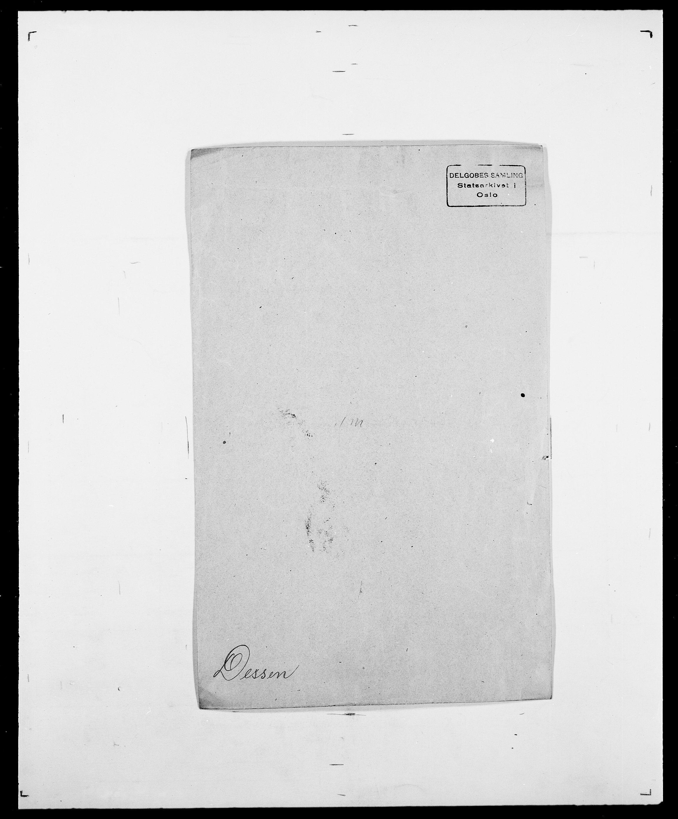 SAO, Delgobe, Charles Antoine - samling, D/Da/L0009: Dahl - v. Düren, s. 494