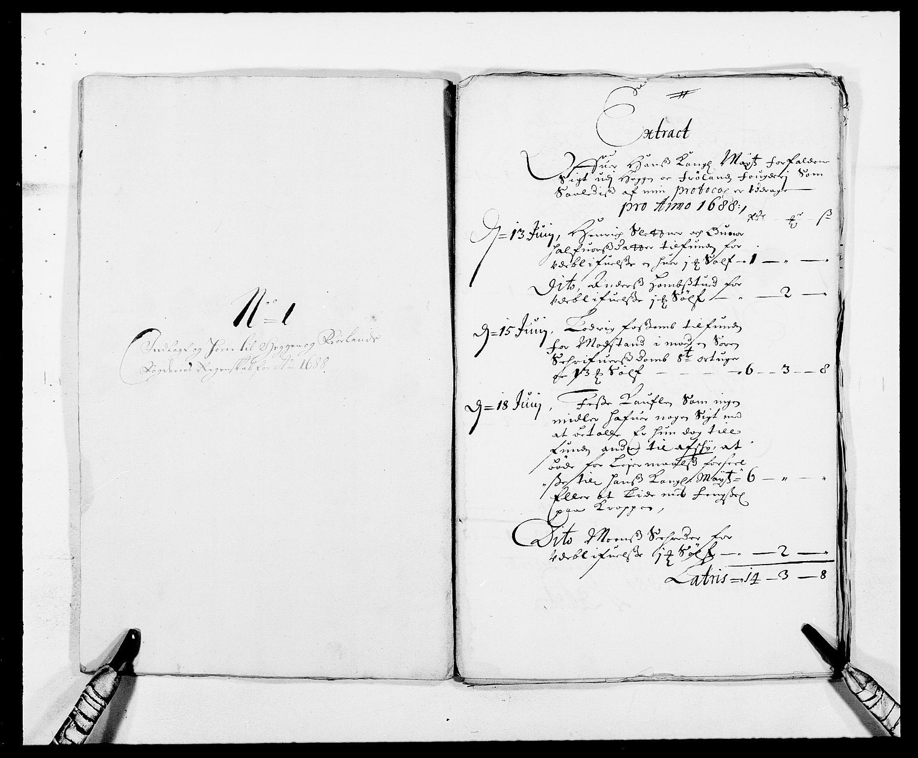 RA, Rentekammeret inntil 1814, Reviderte regnskaper, Fogderegnskap, R06/L0282: Fogderegnskap Heggen og Frøland, 1687-1690, s. 84