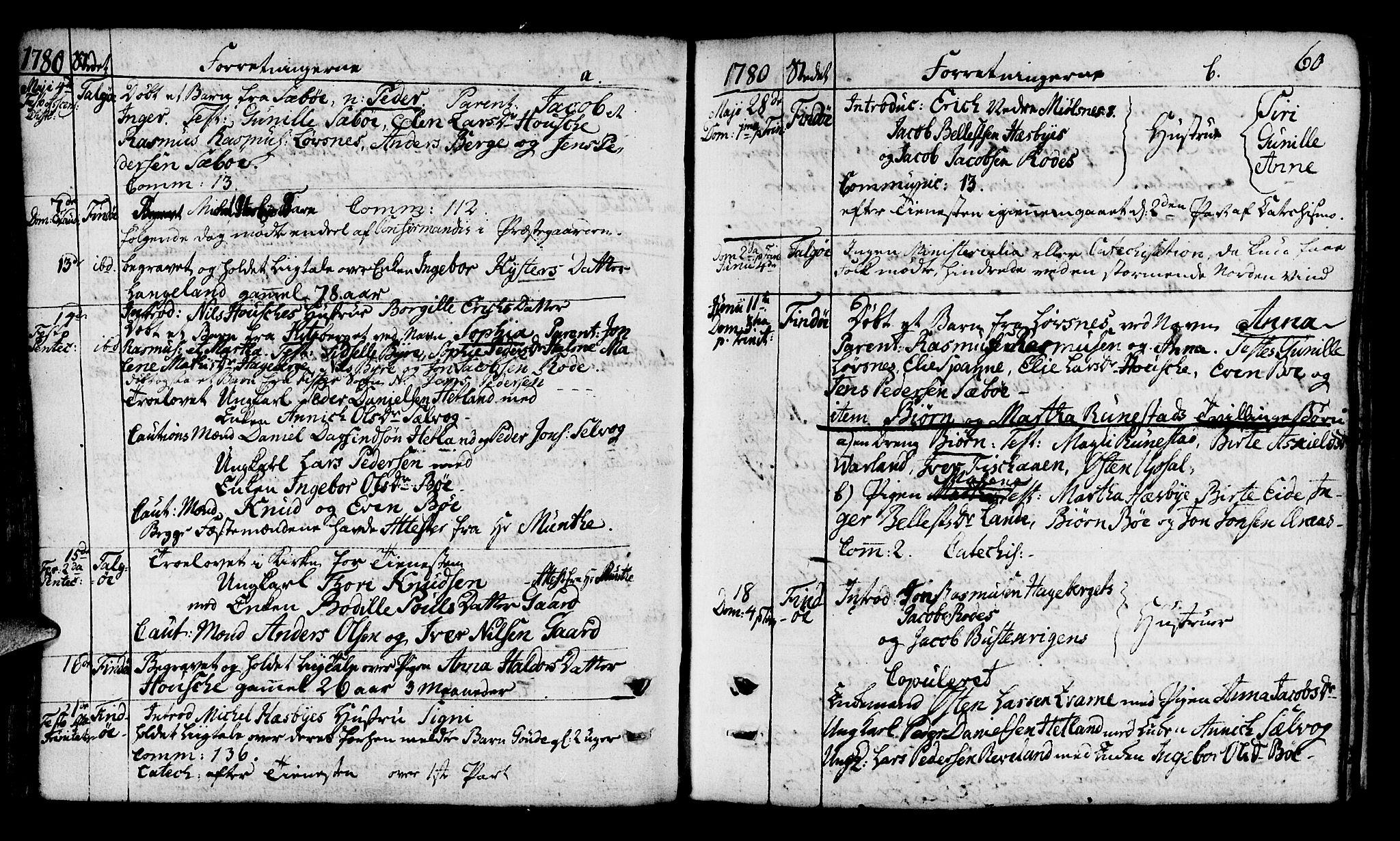 SAST, Finnøy sokneprestkontor, H/Ha/Haa/L0005: Ministerialbok nr. A 5, 1773-1816, s. 60