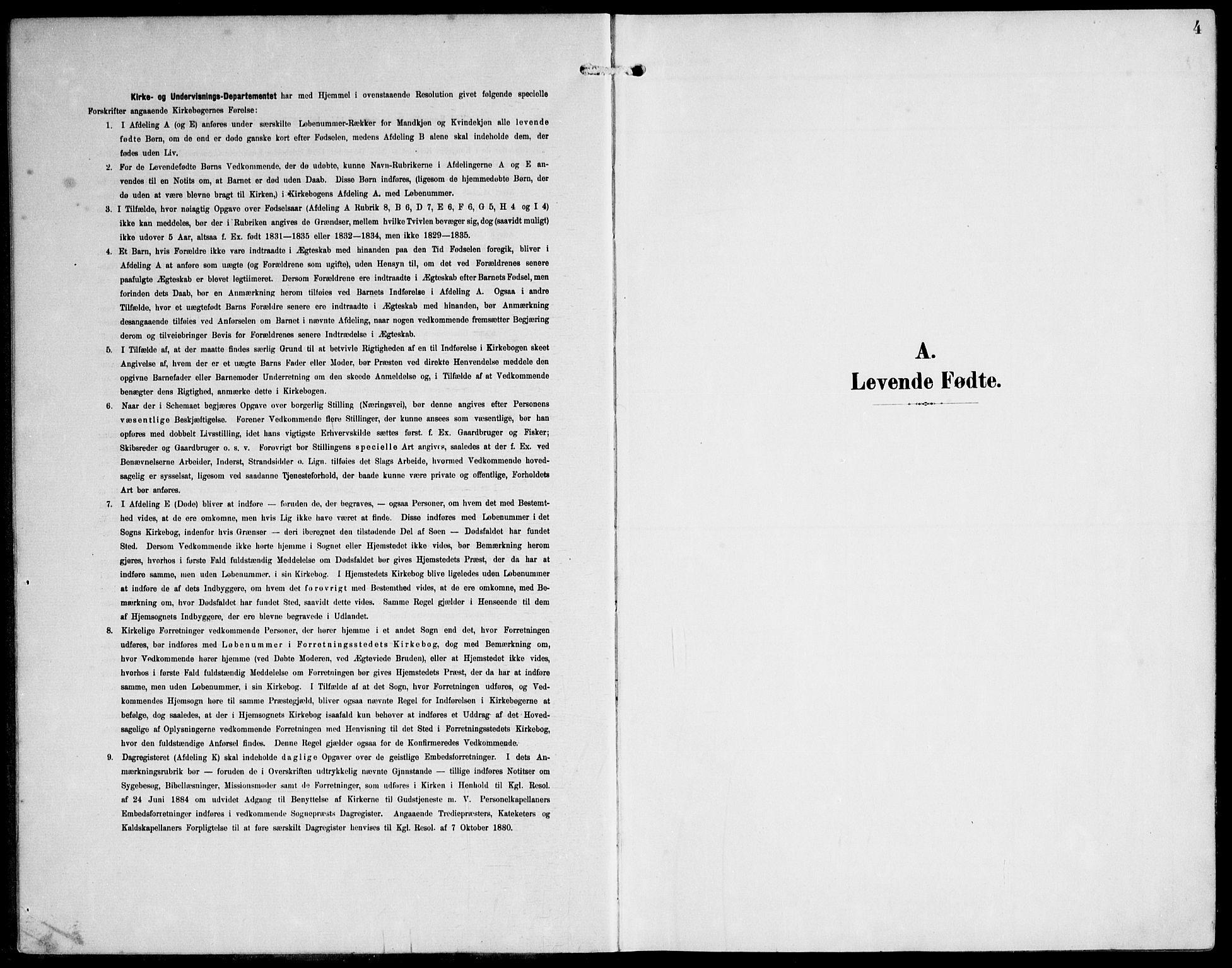SAT, Ministerialprotokoller, klokkerbøker og fødselsregistre - Nord-Trøndelag, 788/L0698: Ministerialbok nr. 788A05, 1902-1921, s. 4