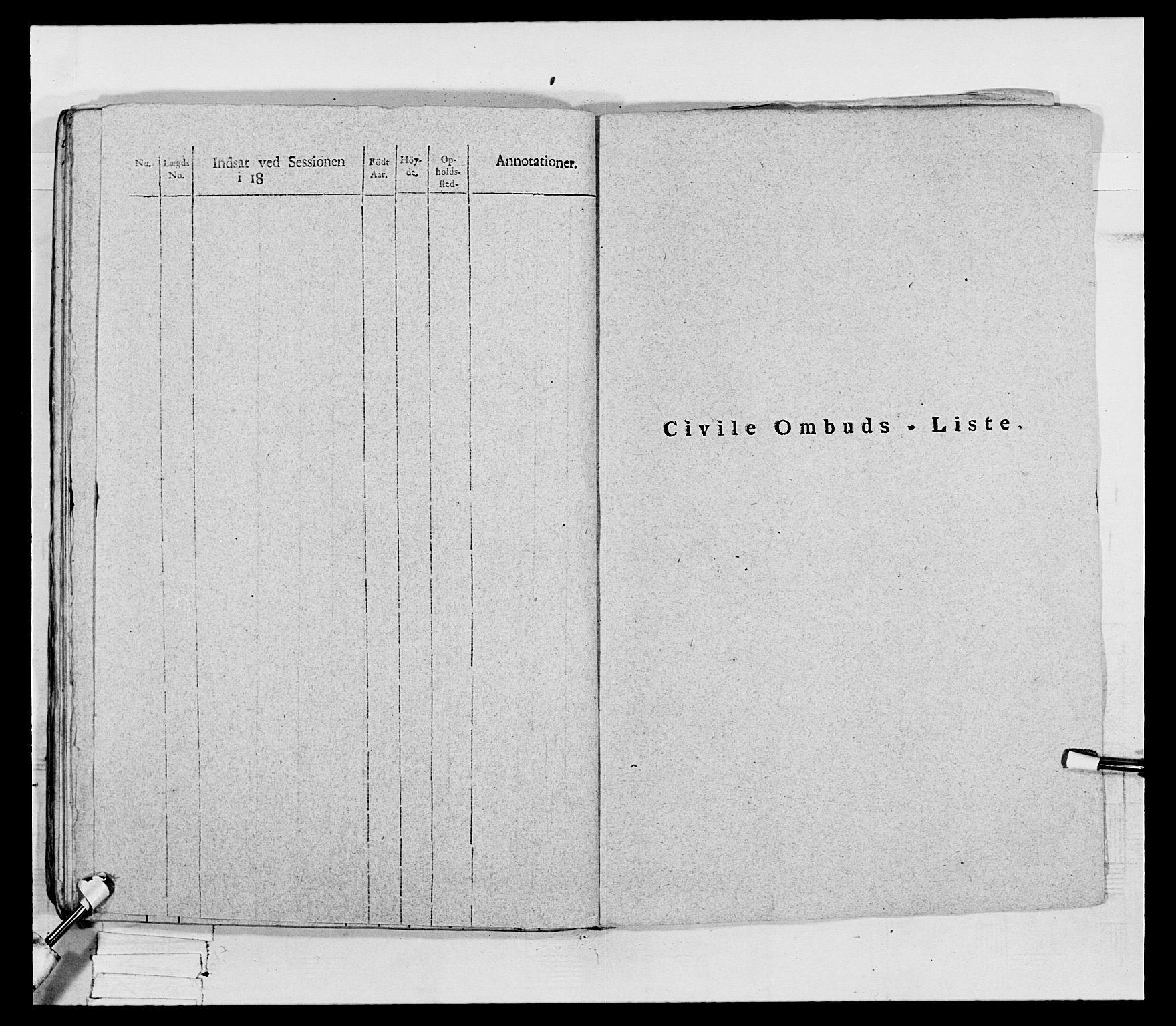 RA, Generalitets- og kommissariatskollegiet, Det kongelige norske kommissariatskollegium, E/Eh/L0069: Opplandske gevorbne infanteriregiment, 1810-1818, s. 207