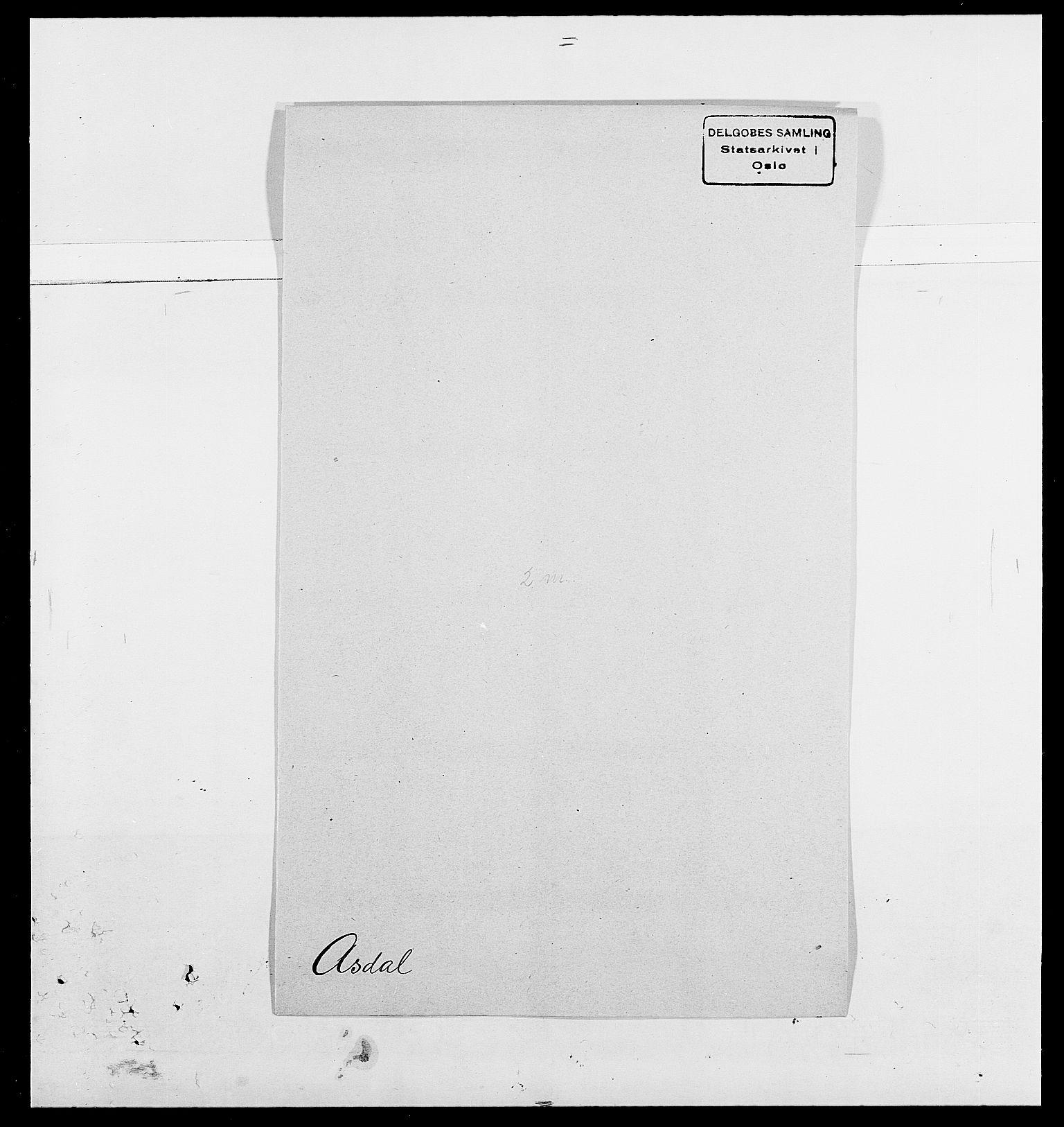 SAO, Delgobe, Charles Antoine - samling, D/Da/L0002: Anker, Ancher - Bauner, s. 424