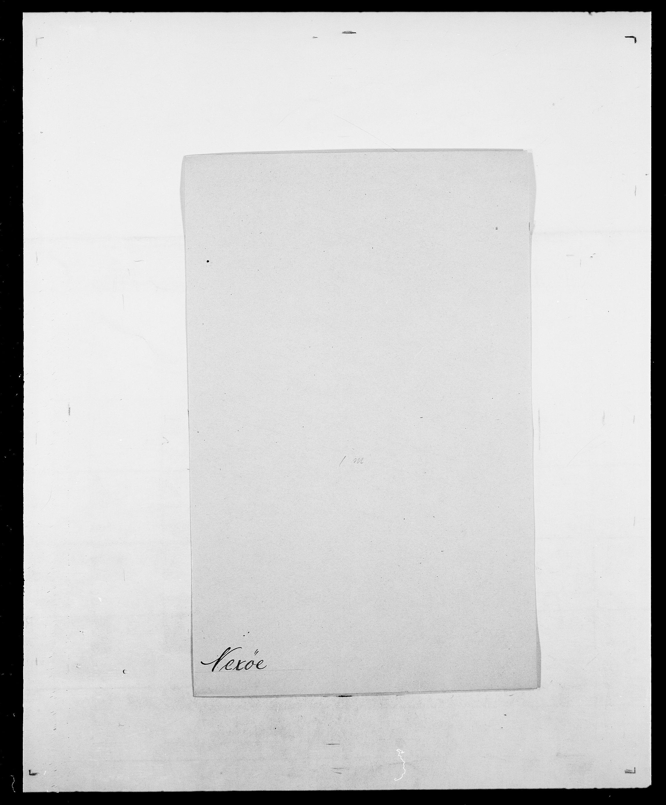 SAO, Delgobe, Charles Antoine - samling, D/Da/L0028: Naaden - Nøvik, s. 158