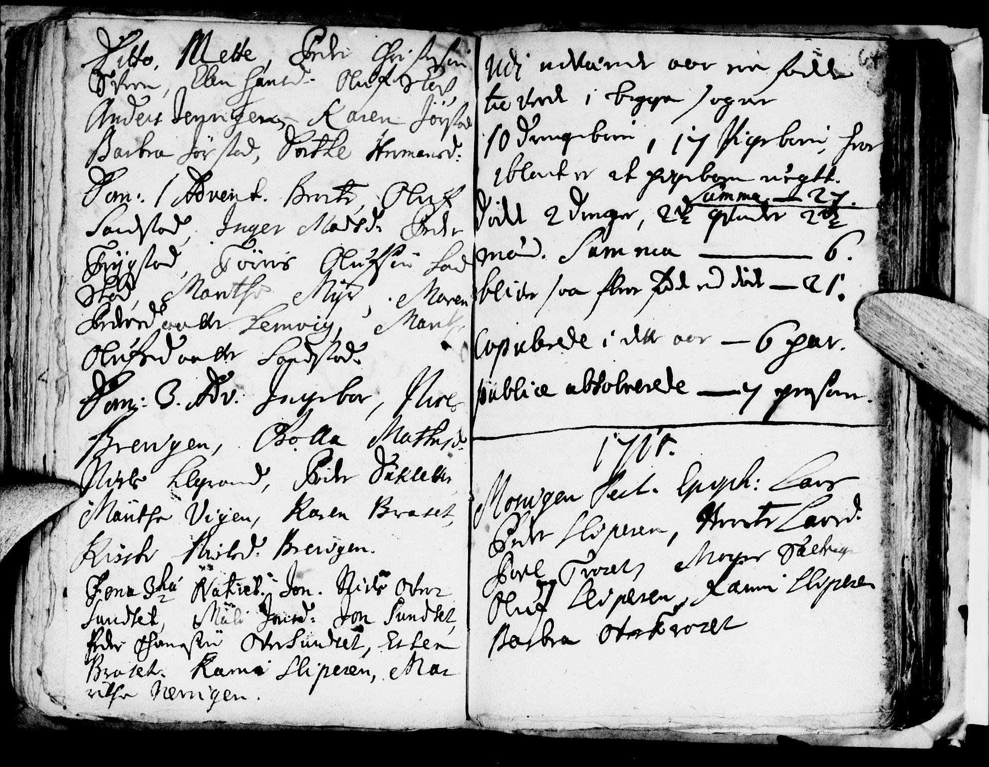 SAT, Ministerialprotokoller, klokkerbøker og fødselsregistre - Nord-Trøndelag, 722/L0214: Ministerialbok nr. 722A01, 1692-1718, s. 64
