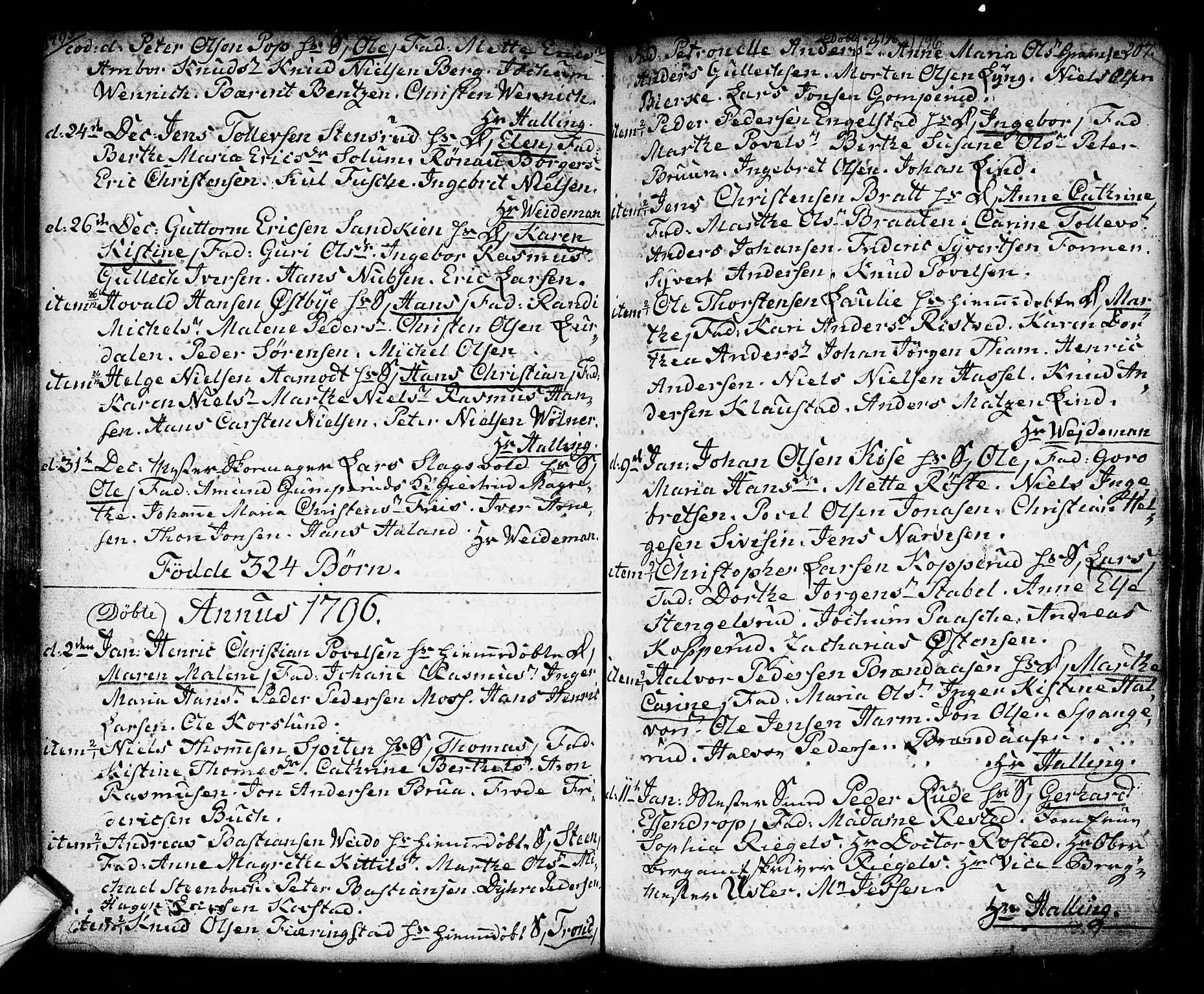 SAKO, Kongsberg kirkebøker, F/Fa/L0006: Ministerialbok nr. I 6, 1783-1797, s. 207