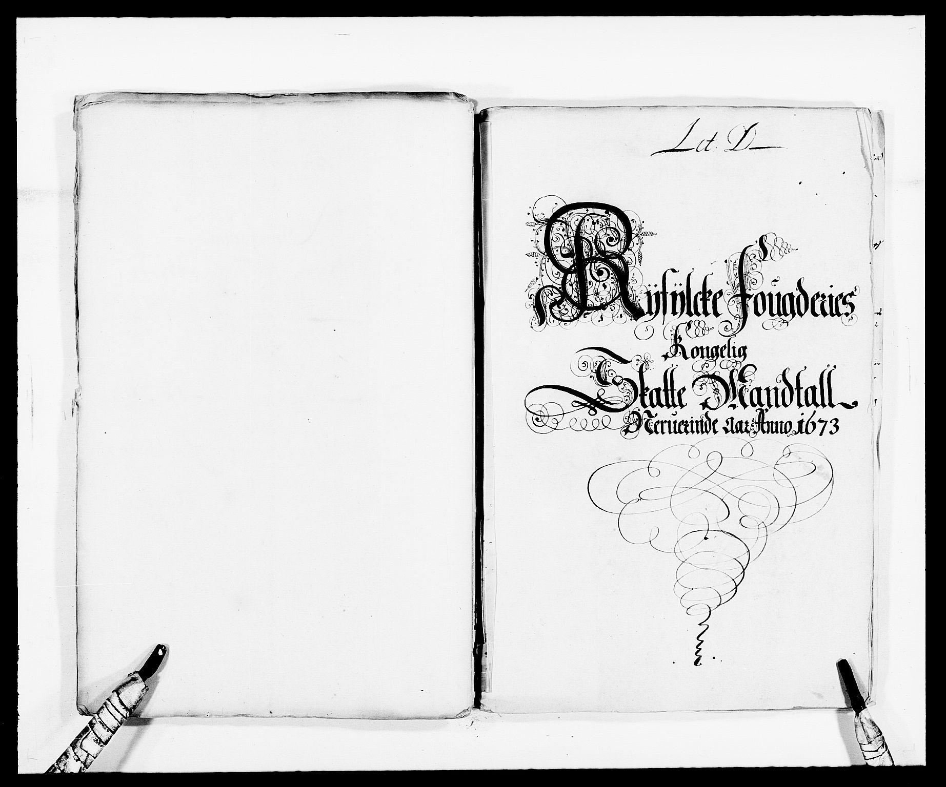 RA, Rentekammeret inntil 1814, Reviderte regnskaper, Fogderegnskap, R47/L2844: Fogderegnskap Ryfylke, 1672-1673, s. 186
