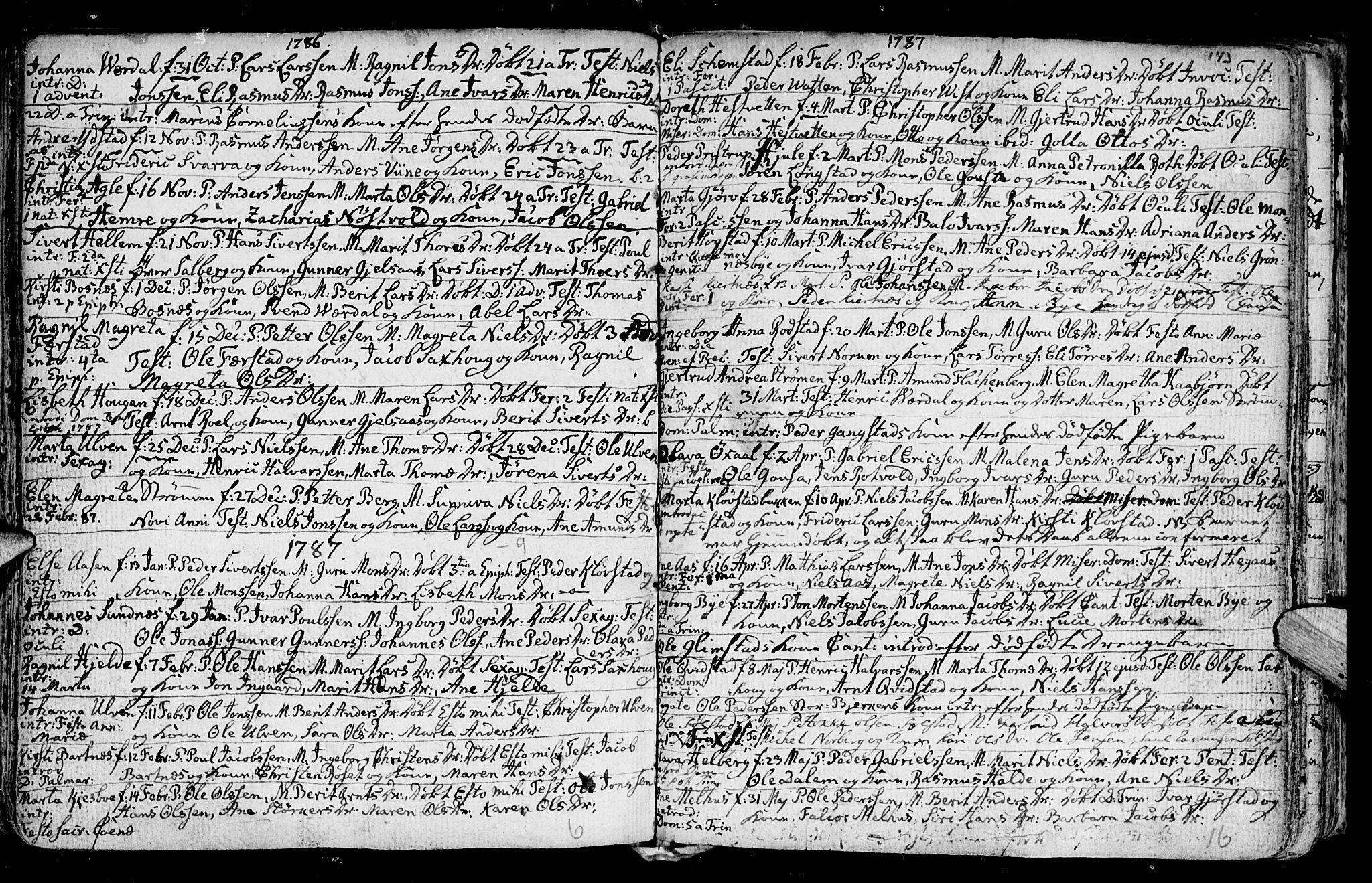 SAT, Ministerialprotokoller, klokkerbøker og fødselsregistre - Nord-Trøndelag, 730/L0273: Ministerialbok nr. 730A02, 1762-1802, s. 143
