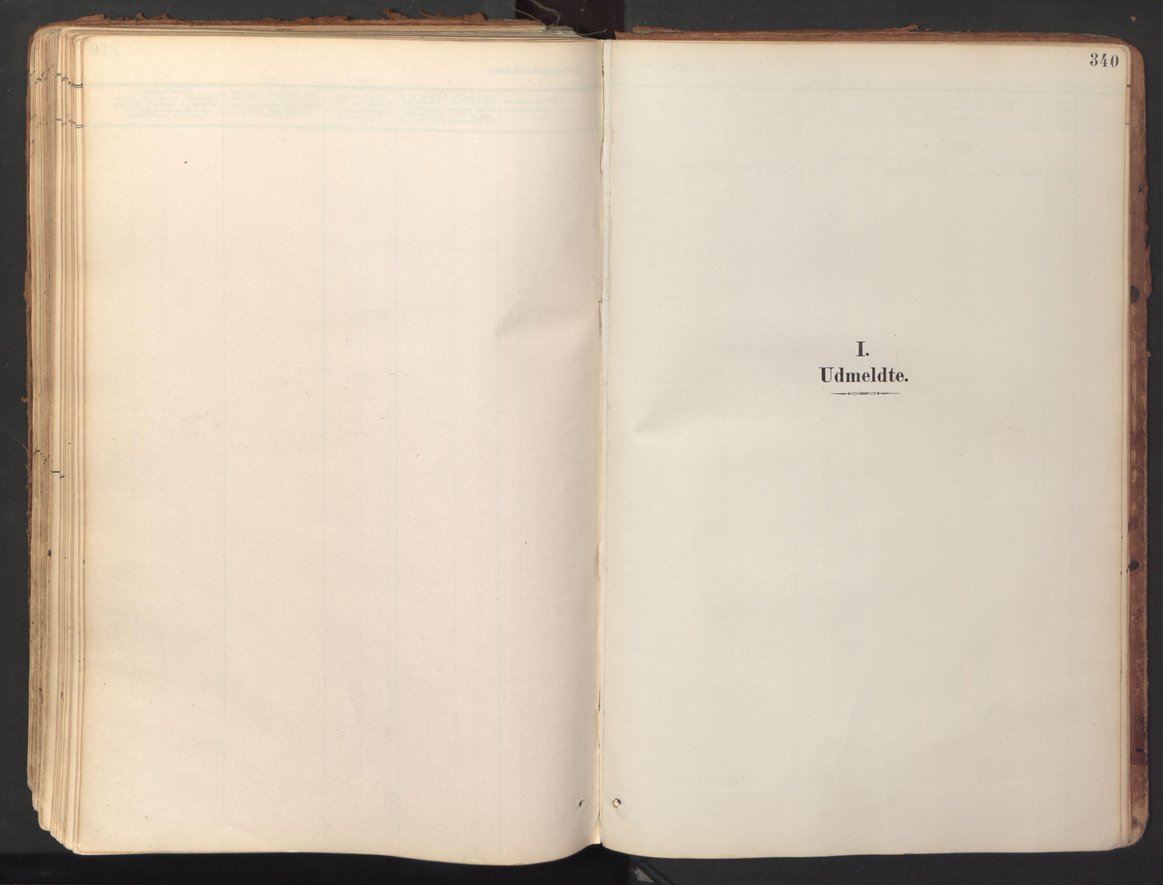 SAT, Ministerialprotokoller, klokkerbøker og fødselsregistre - Sør-Trøndelag, 689/L1041: Ministerialbok nr. 689A06, 1891-1923, s. 340