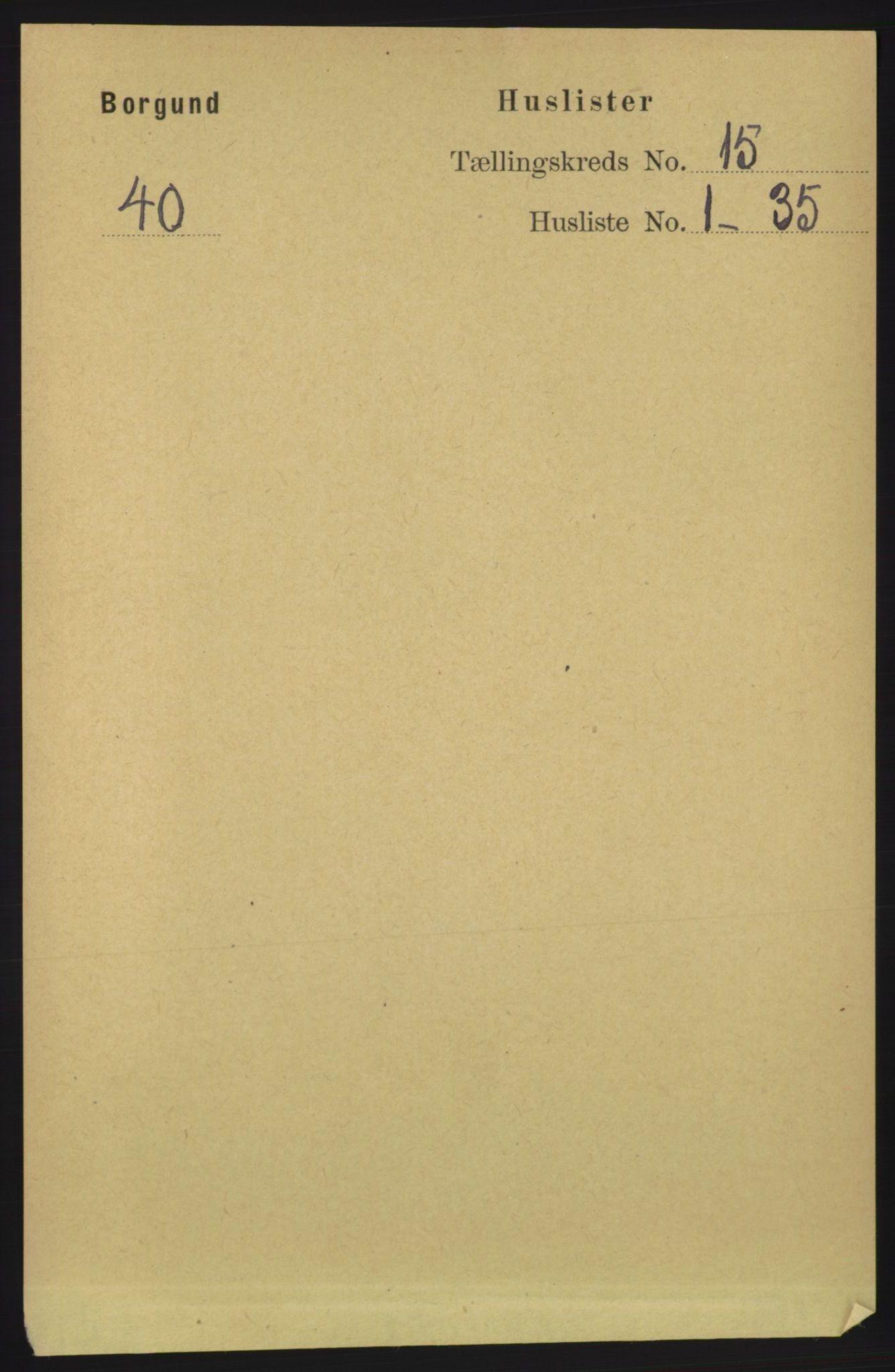 RA, Folketelling 1891 for 1531 Borgund herred, 1891, s. 4440