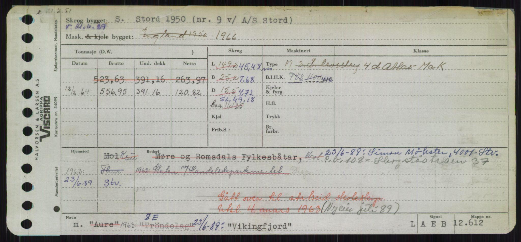 RA, Sjøfartsdirektoratet med forløpere, Skipsmålingen, H/Ha/L0006: Fartøy, Sver-Å, s. 477