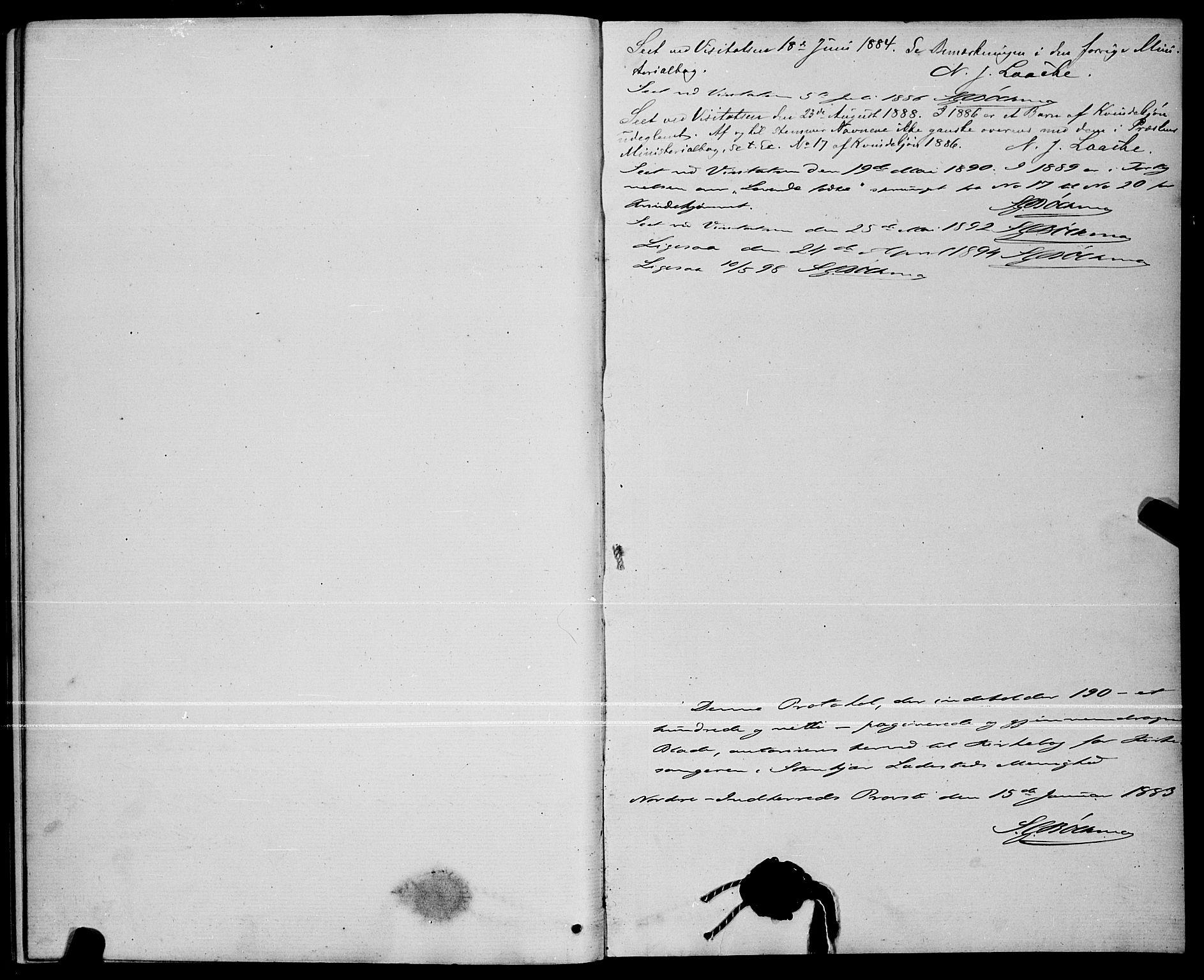 SAT, Ministerialprotokoller, klokkerbøker og fødselsregistre - Nord-Trøndelag, 739/L0374: Klokkerbok nr. 739C02, 1883-1898